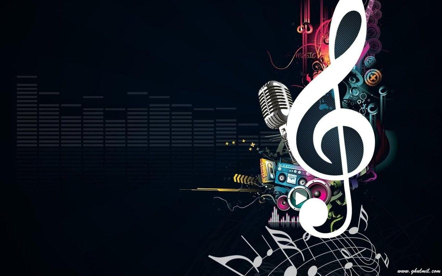 Musical Symbols Wallpapers Wallpaper Cave