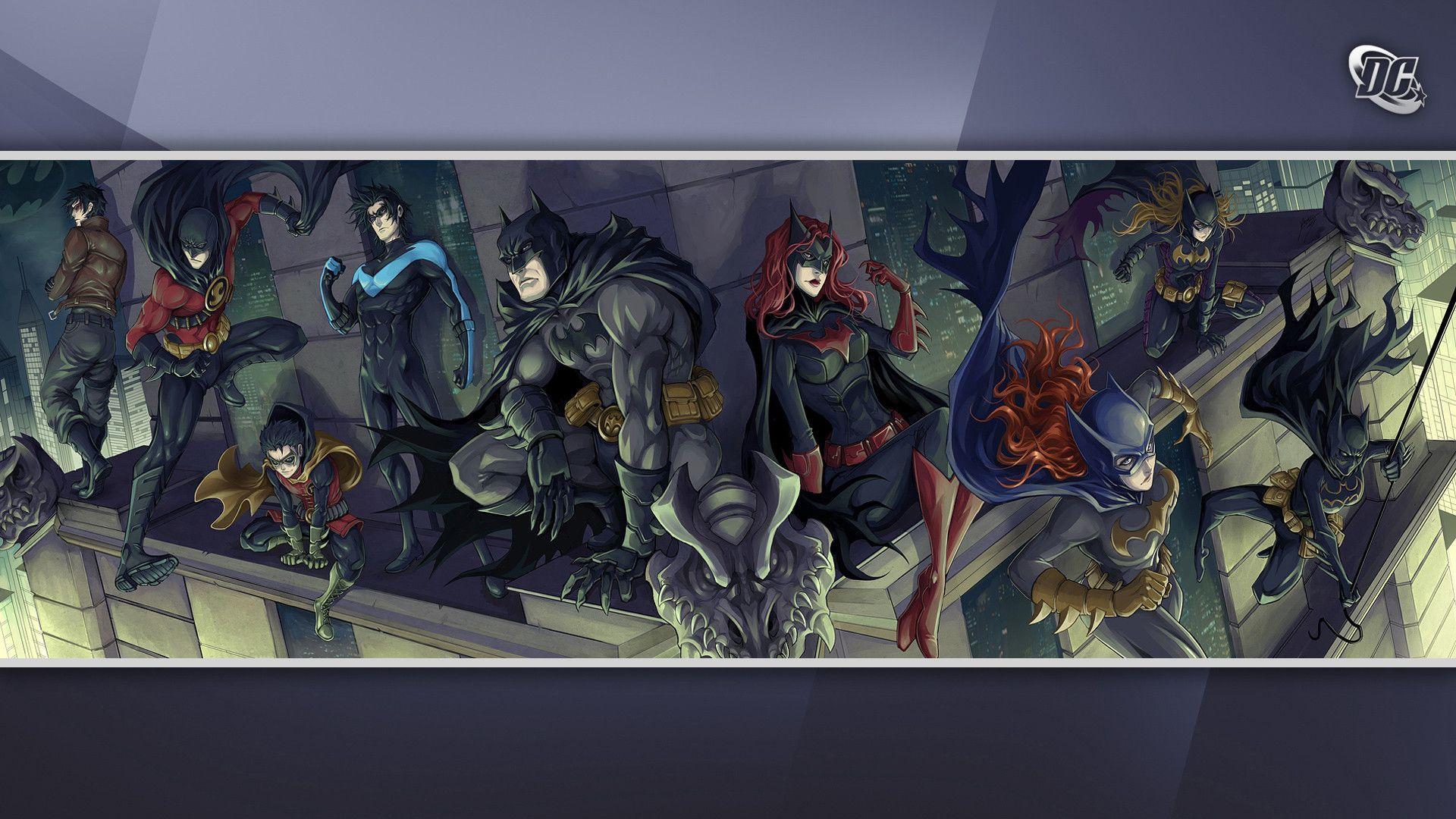 Batman Family Wallpapers Wallpaper Cave