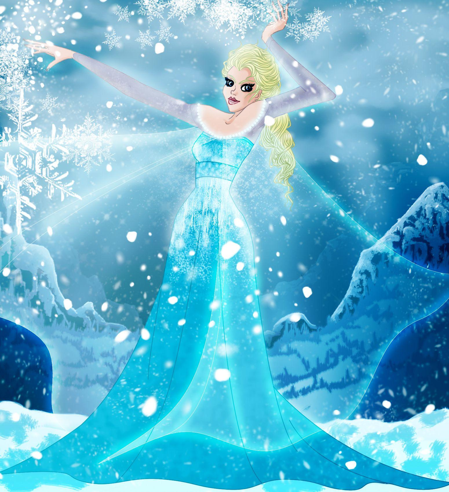 Frozen elsa wallpapers wallpaper cave - Frozen cartoon wallpaper ...