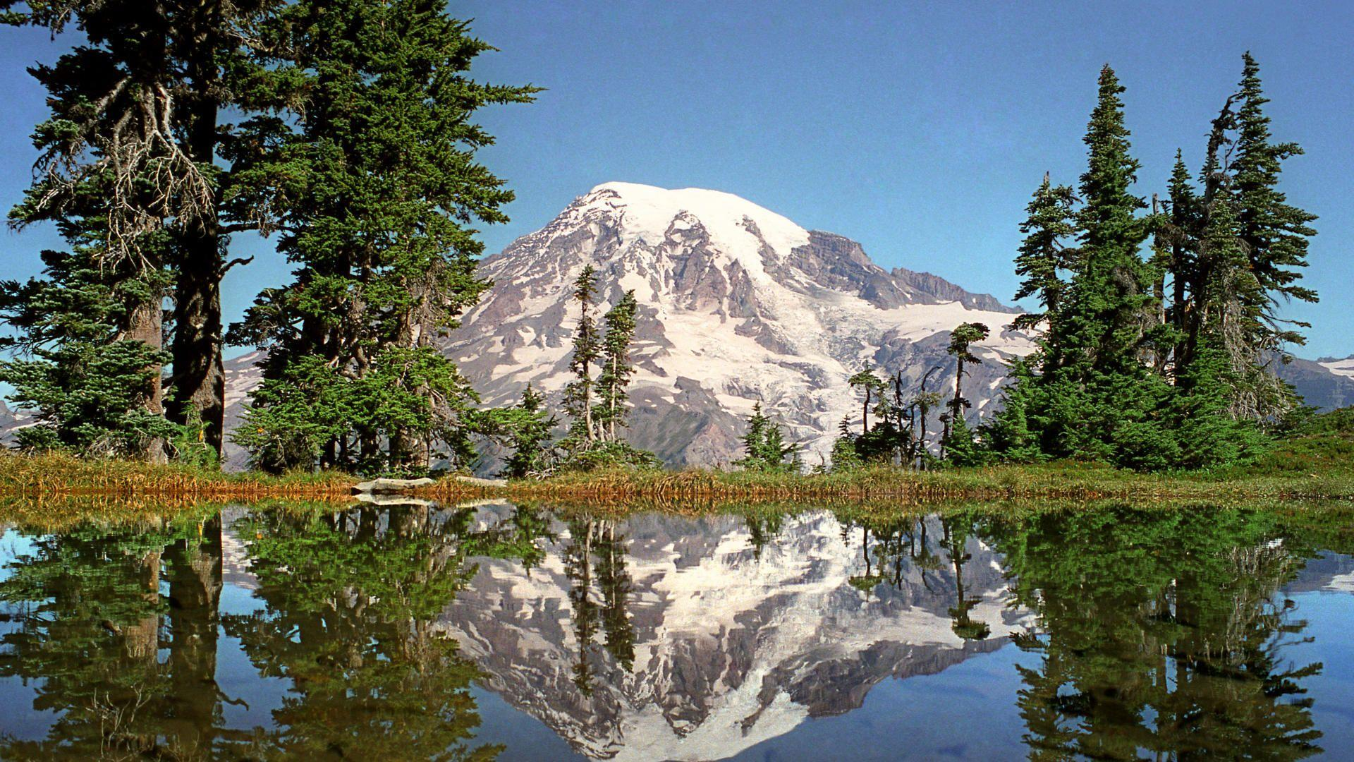 Mount Rainier HD Wallpapers - THIS Wallpaper