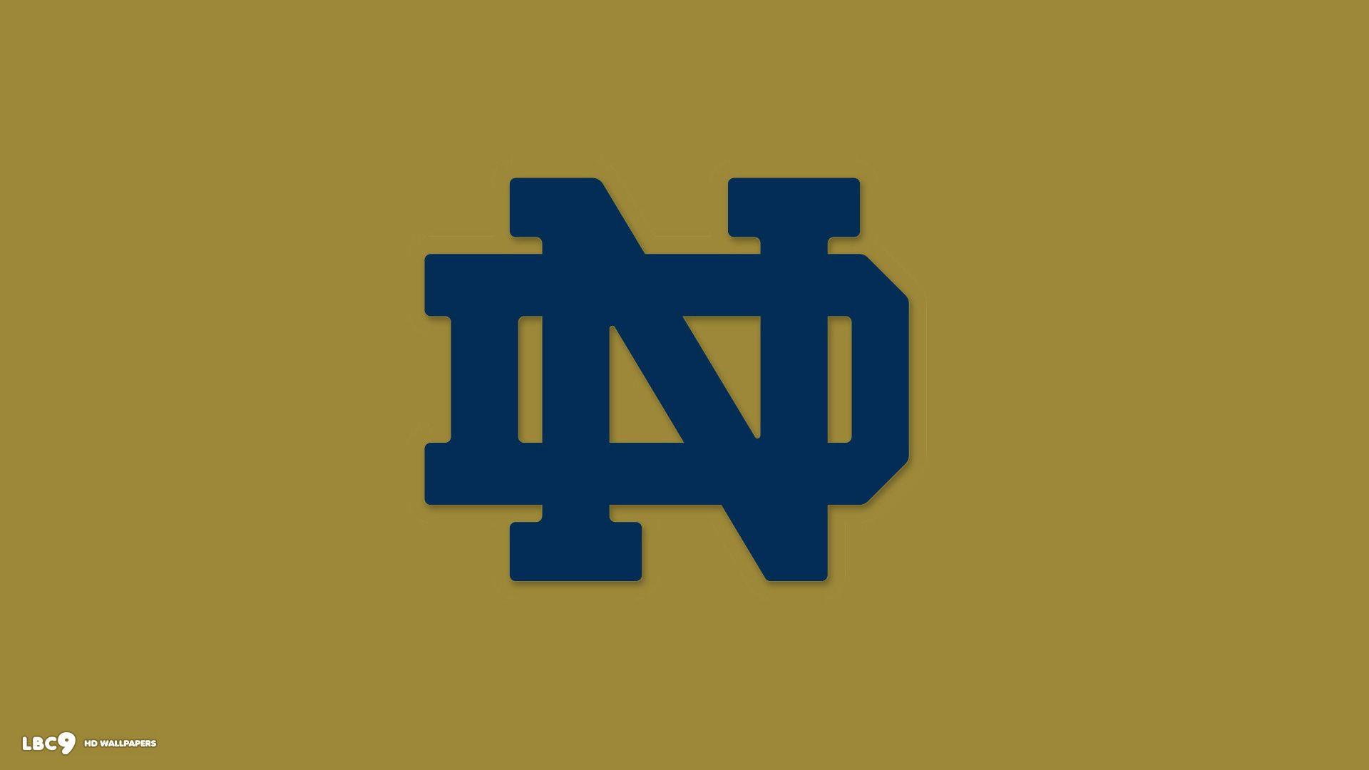 Notre Dame Fighting Irish Wallpapers Wallpaper Cave