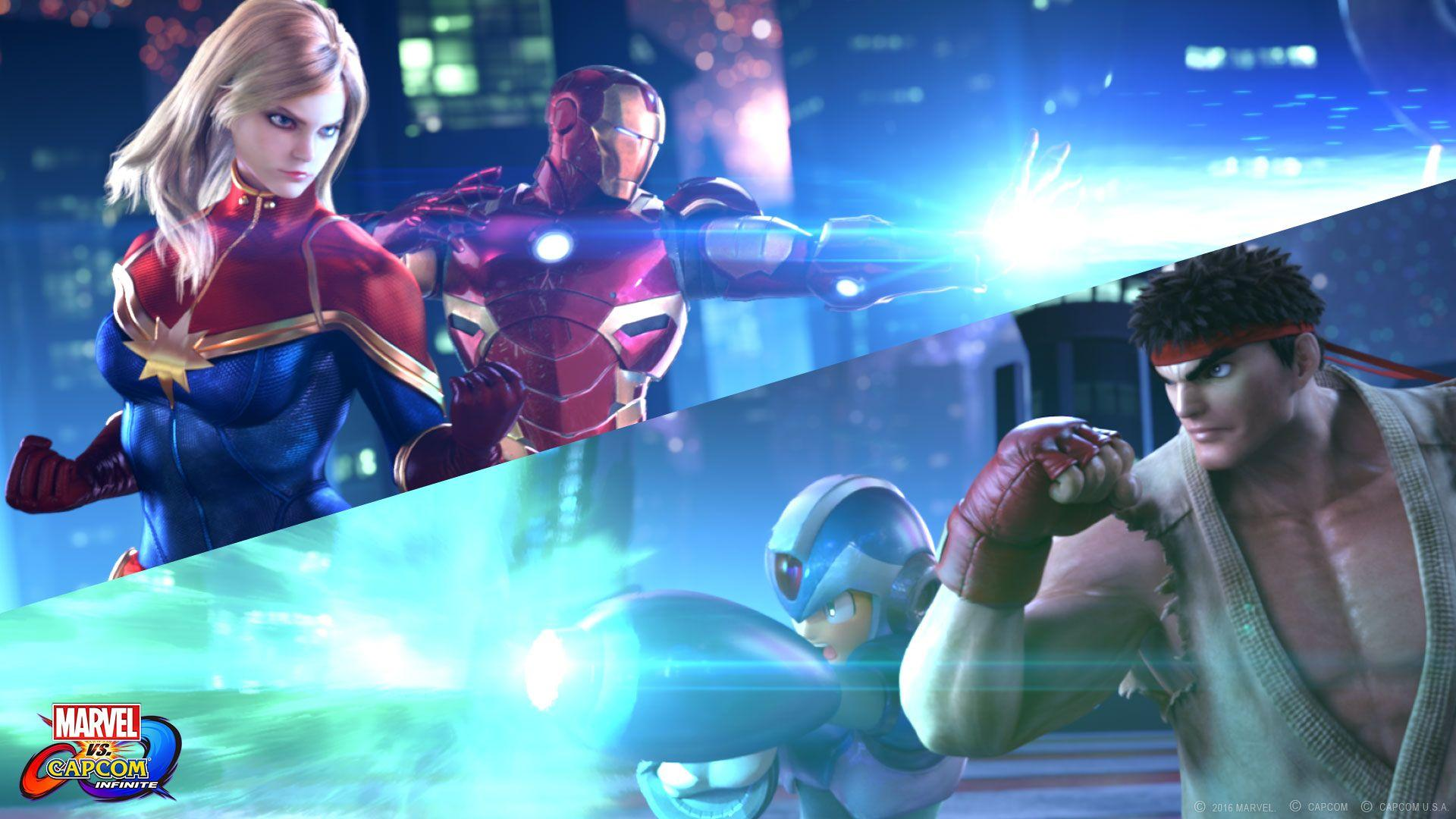 Marvel Vs Capcom Infinite Wallpapers