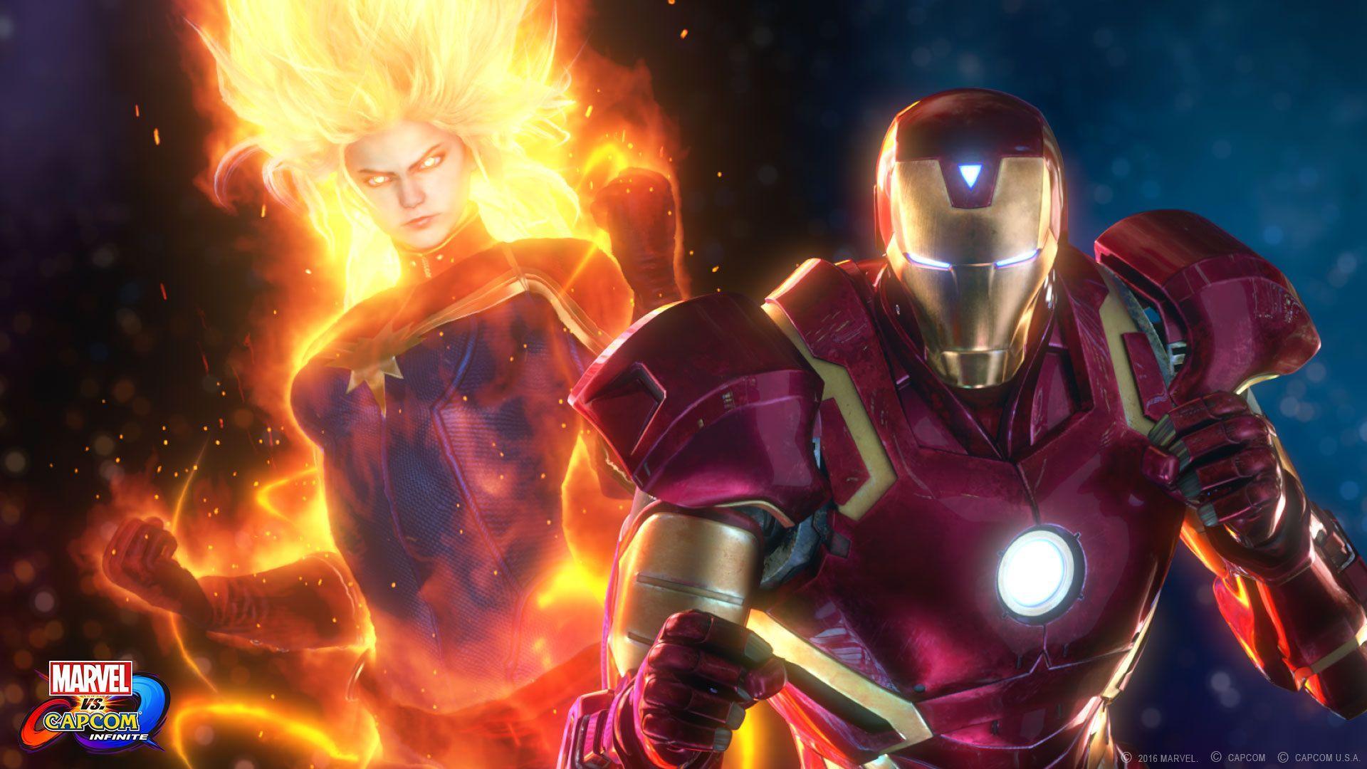 Marvel Vs Capcom Infinite Wallpapers Wallpaper Cave