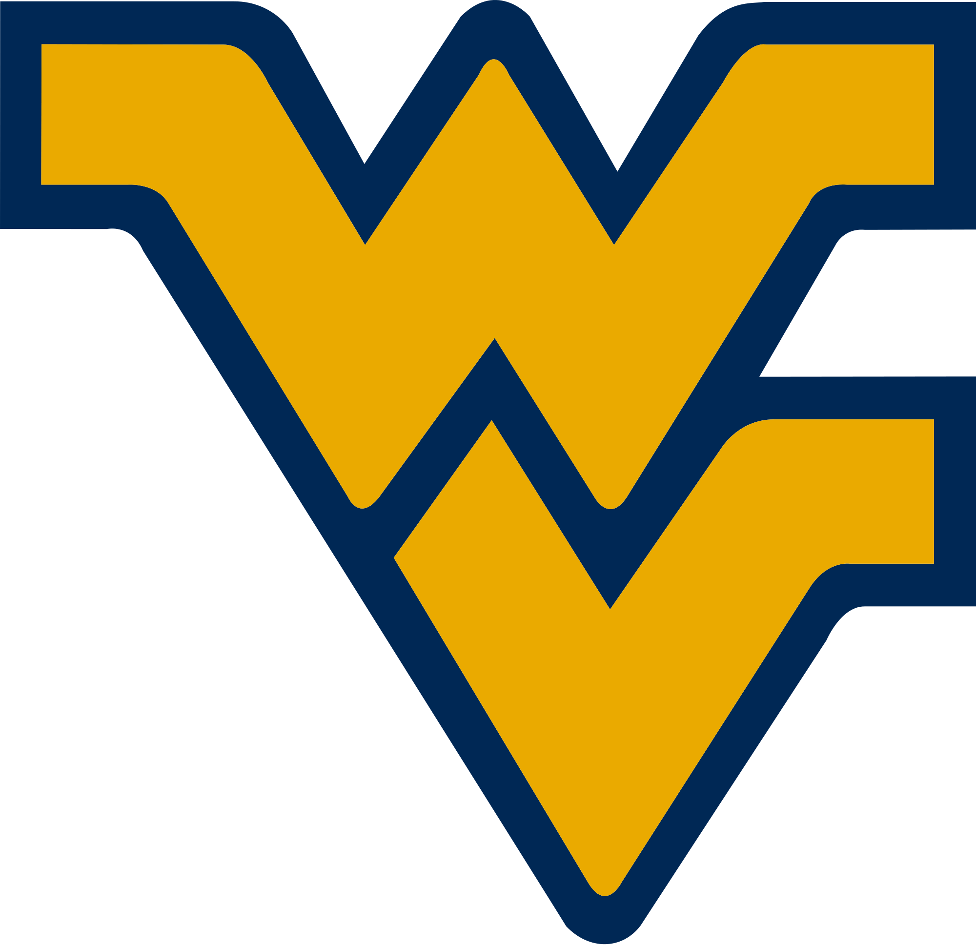 The Missouri Tigers vs. the West Virginia Mountaineers