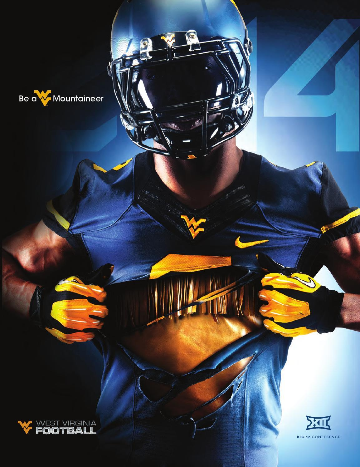 2014 West Virginia University Football Guide by Joe Swan