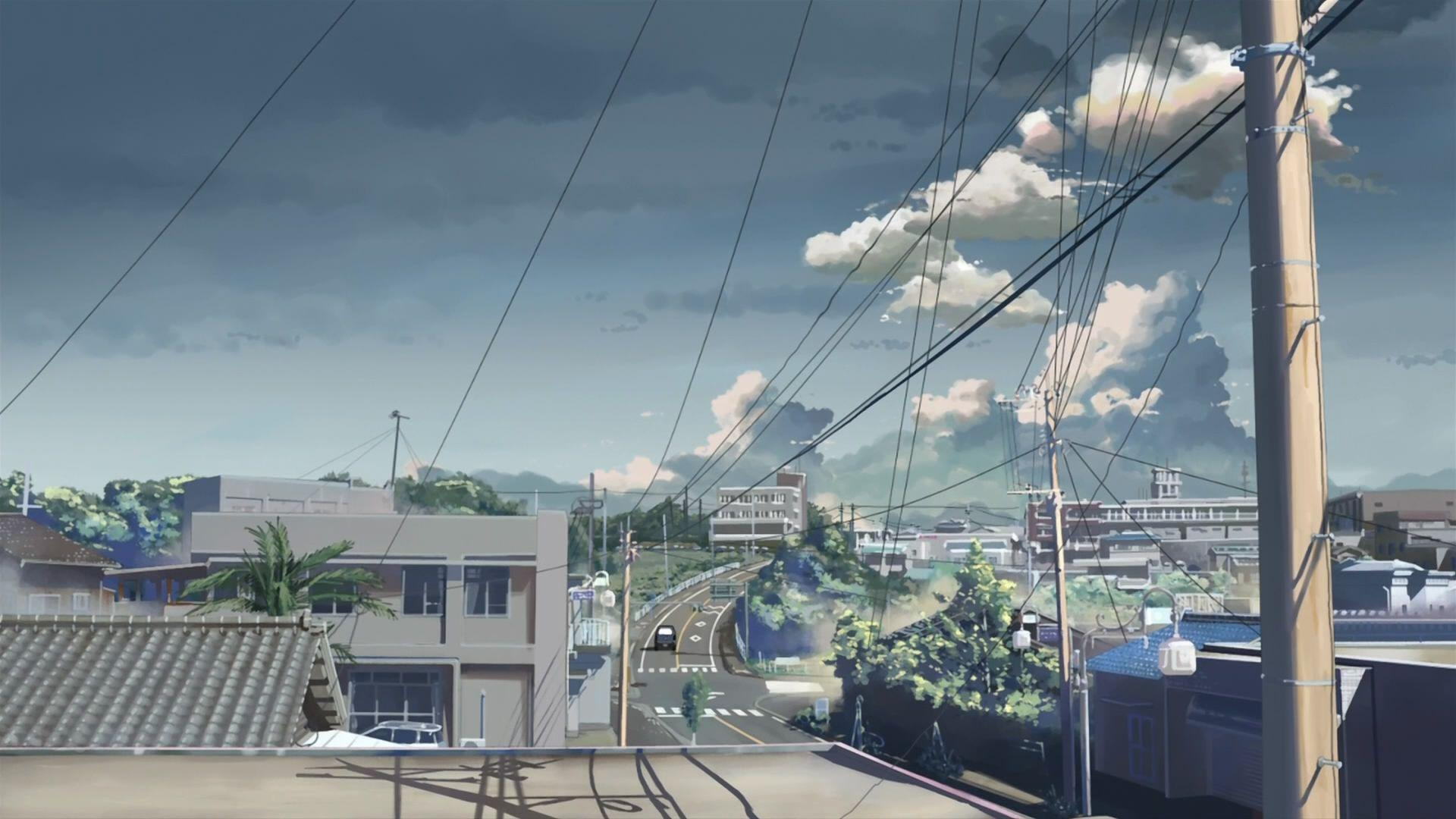 Anime City Backgrounds image information