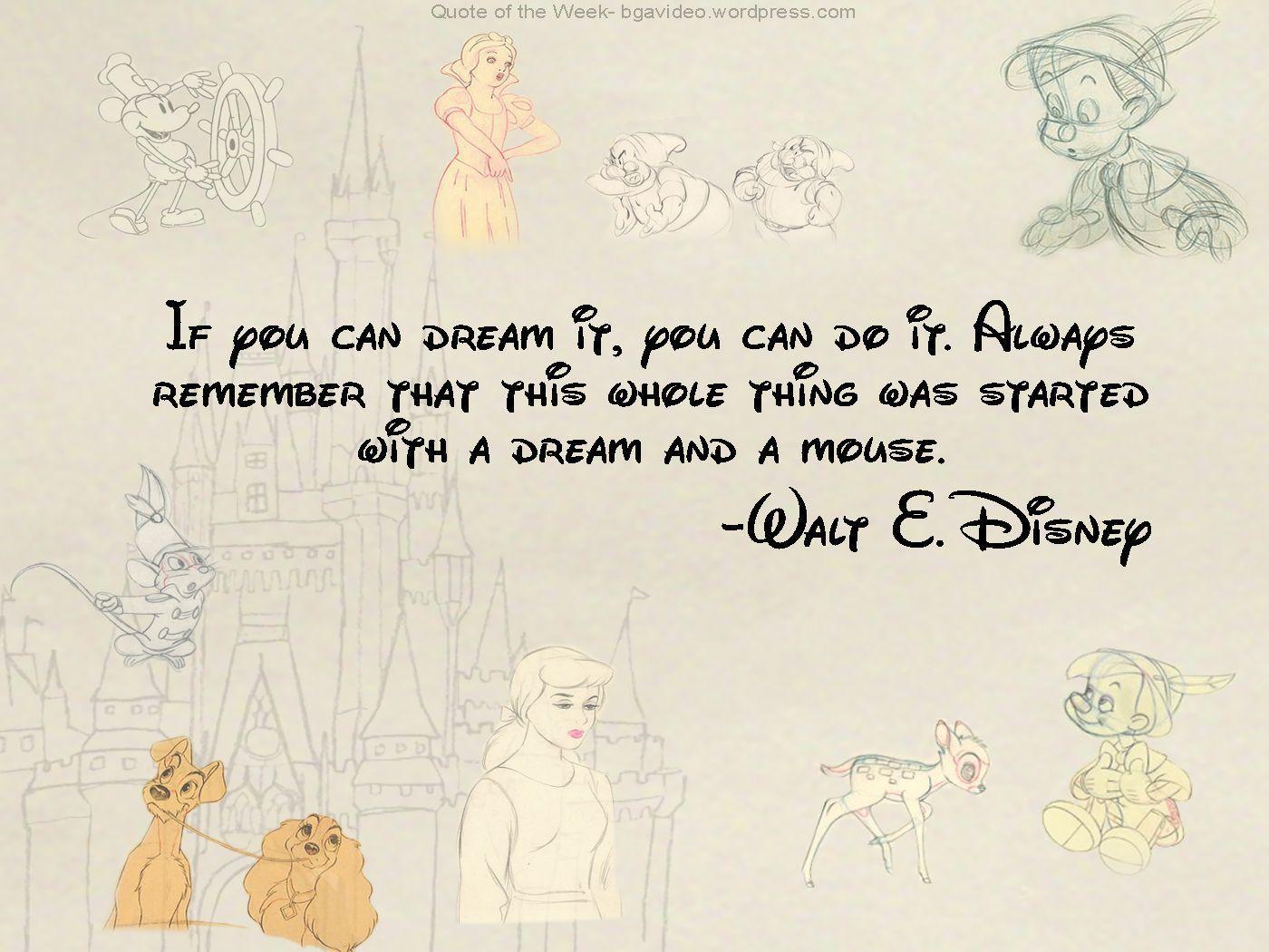 Disney Quotes Wallpapers Wallpaper Cave