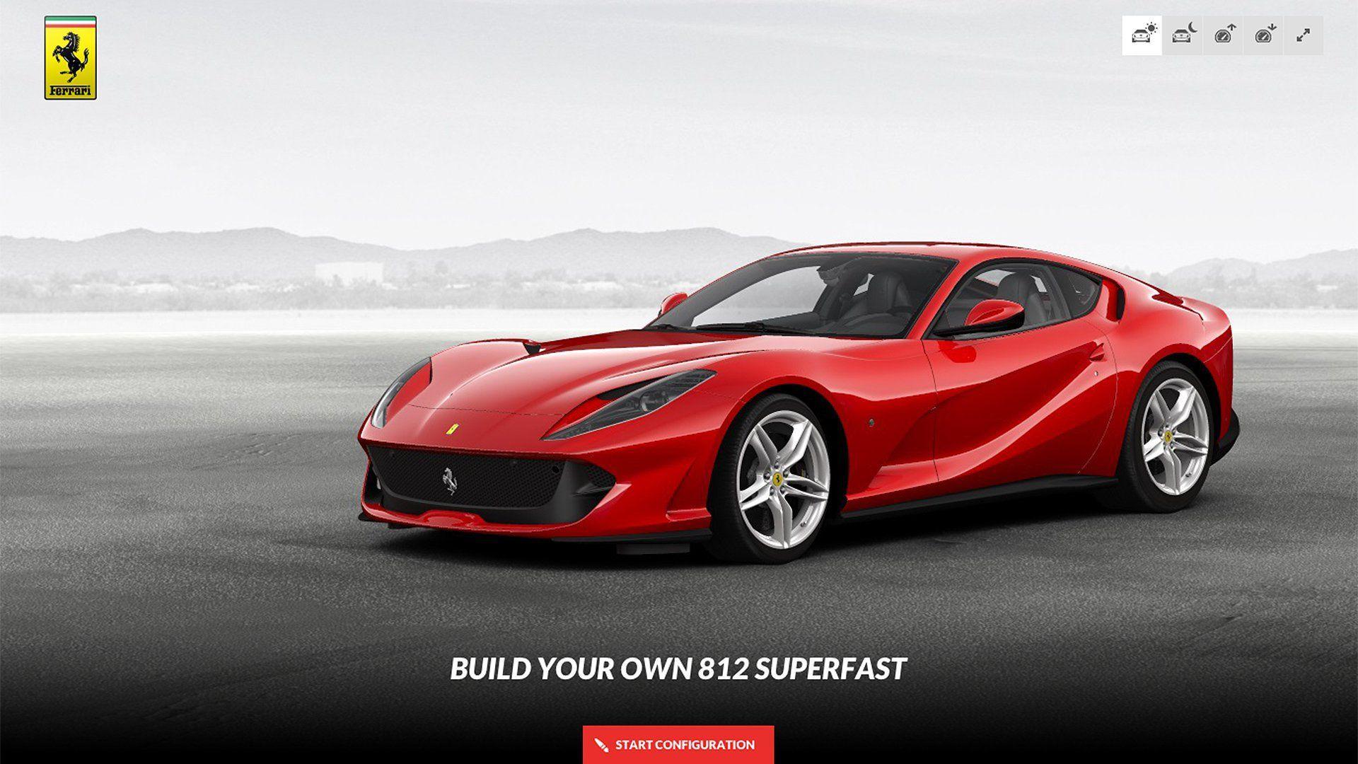 Ferrari 812 Superfast Wallpapers Wallpaper Cave