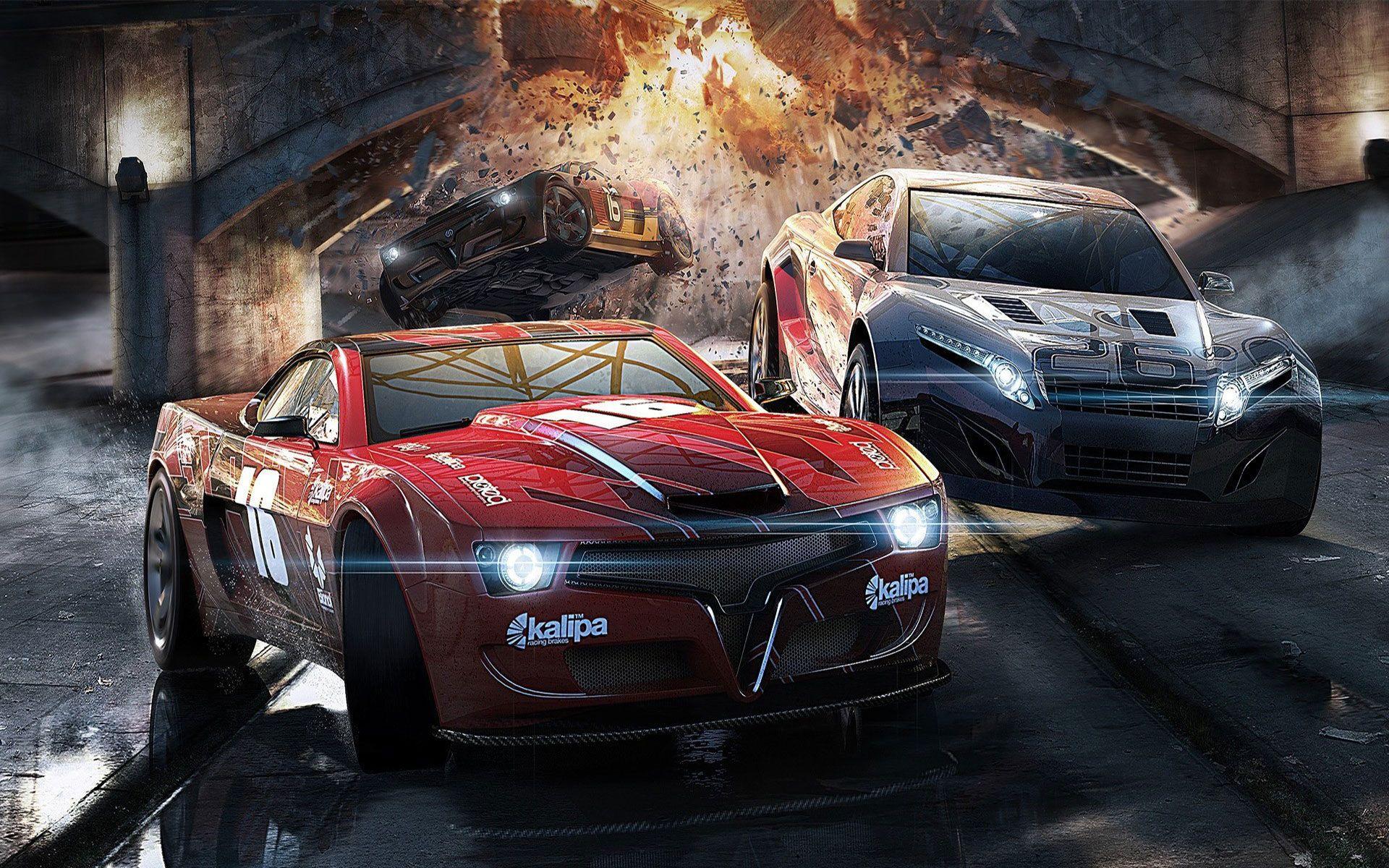 Car Race Wallpapers Wallpaper Cave