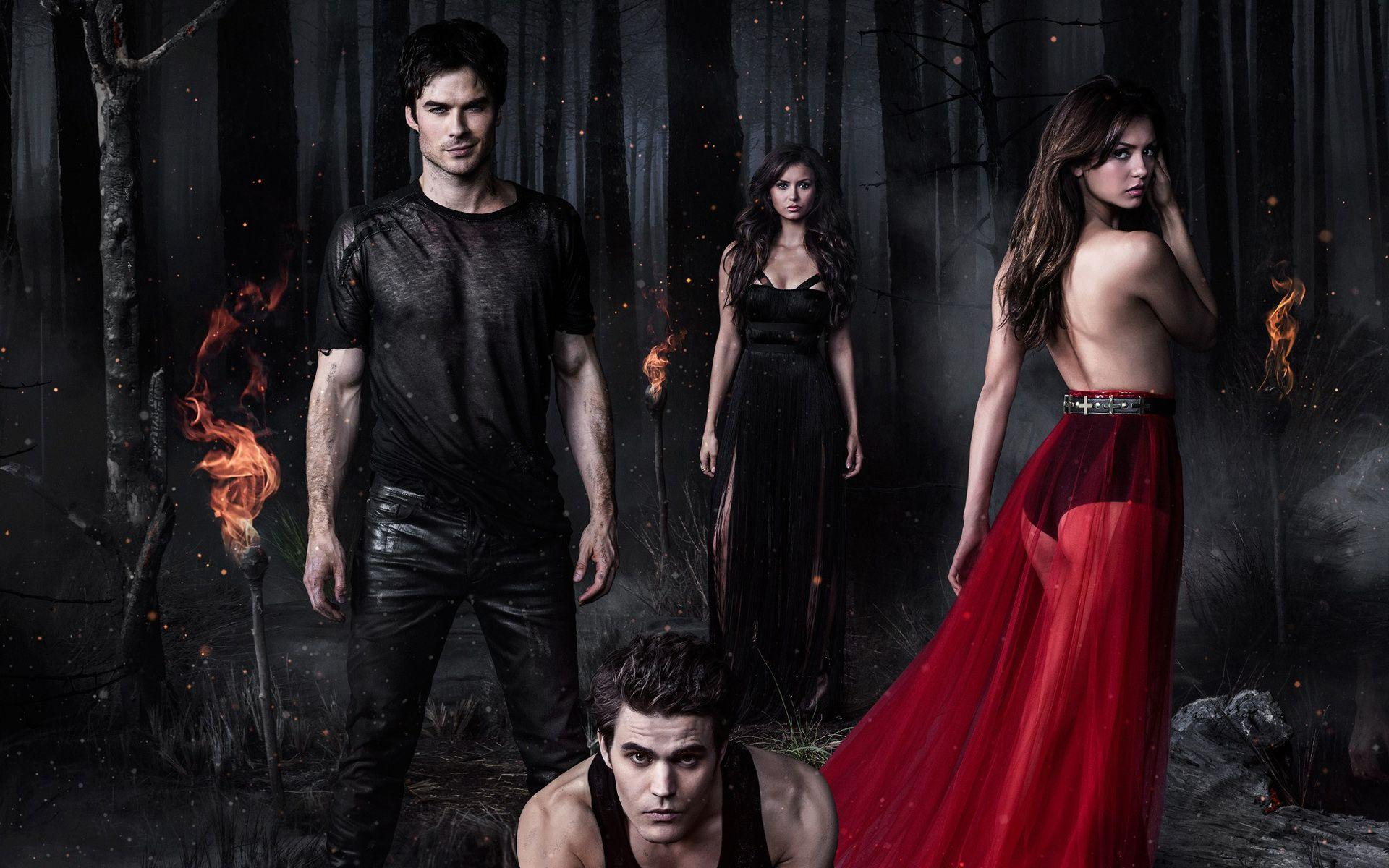 The Vampire Diaries Season 5 2013 Wallpapers