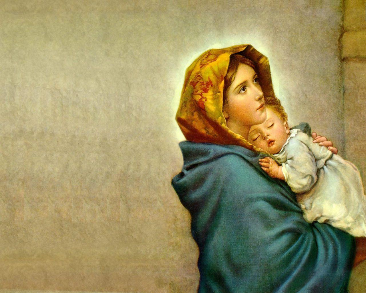 Mother Mary HD Wallpapers