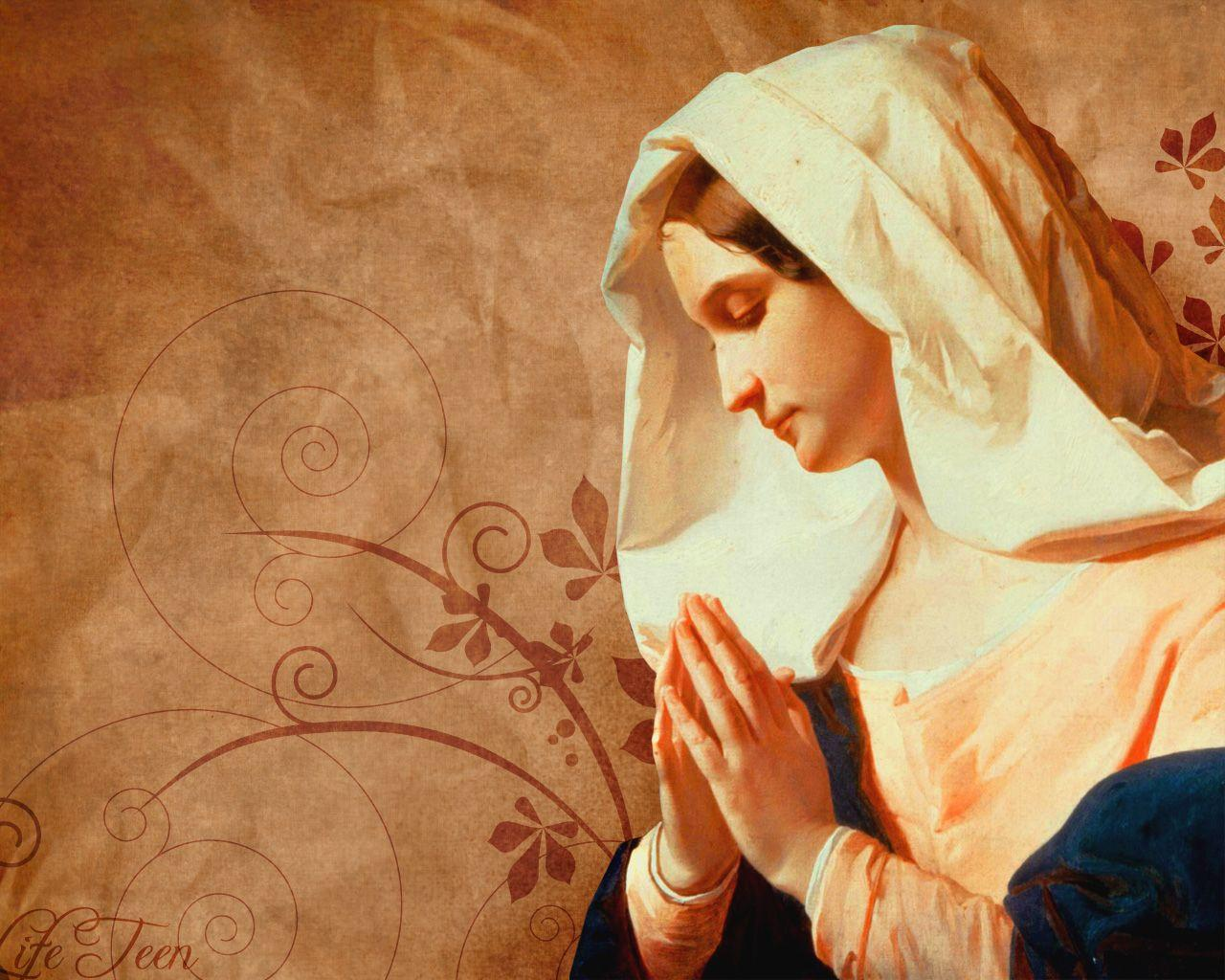 Mother Mary Hd Wallpapers Wallpaper Cave