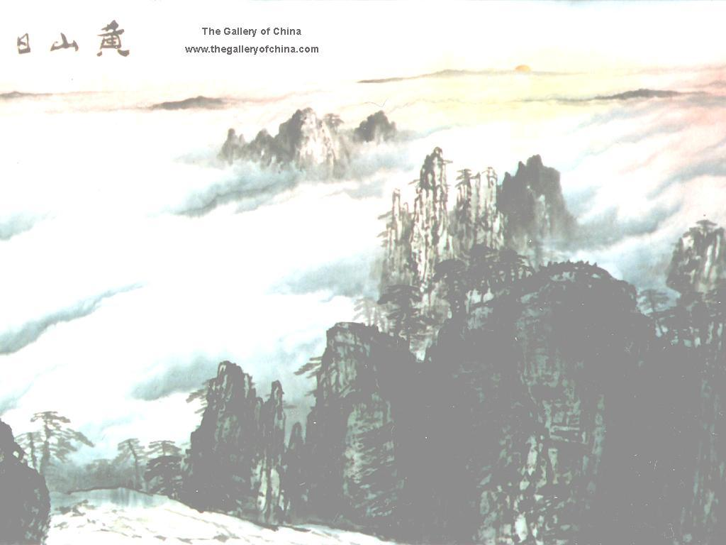 Chinese Art Paintings Free Desktop Wallpaper