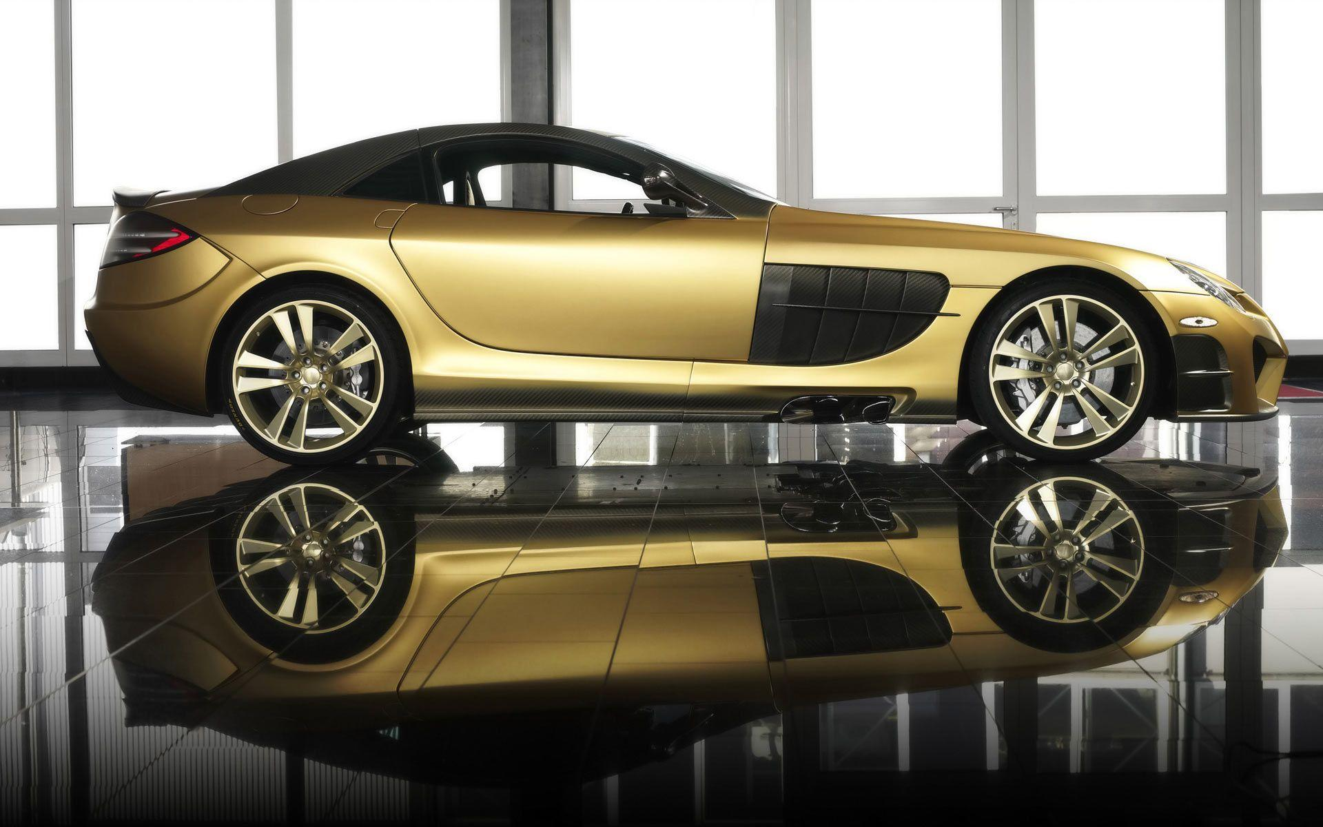 Gold Cars Wallpapers Wallpaper Cave