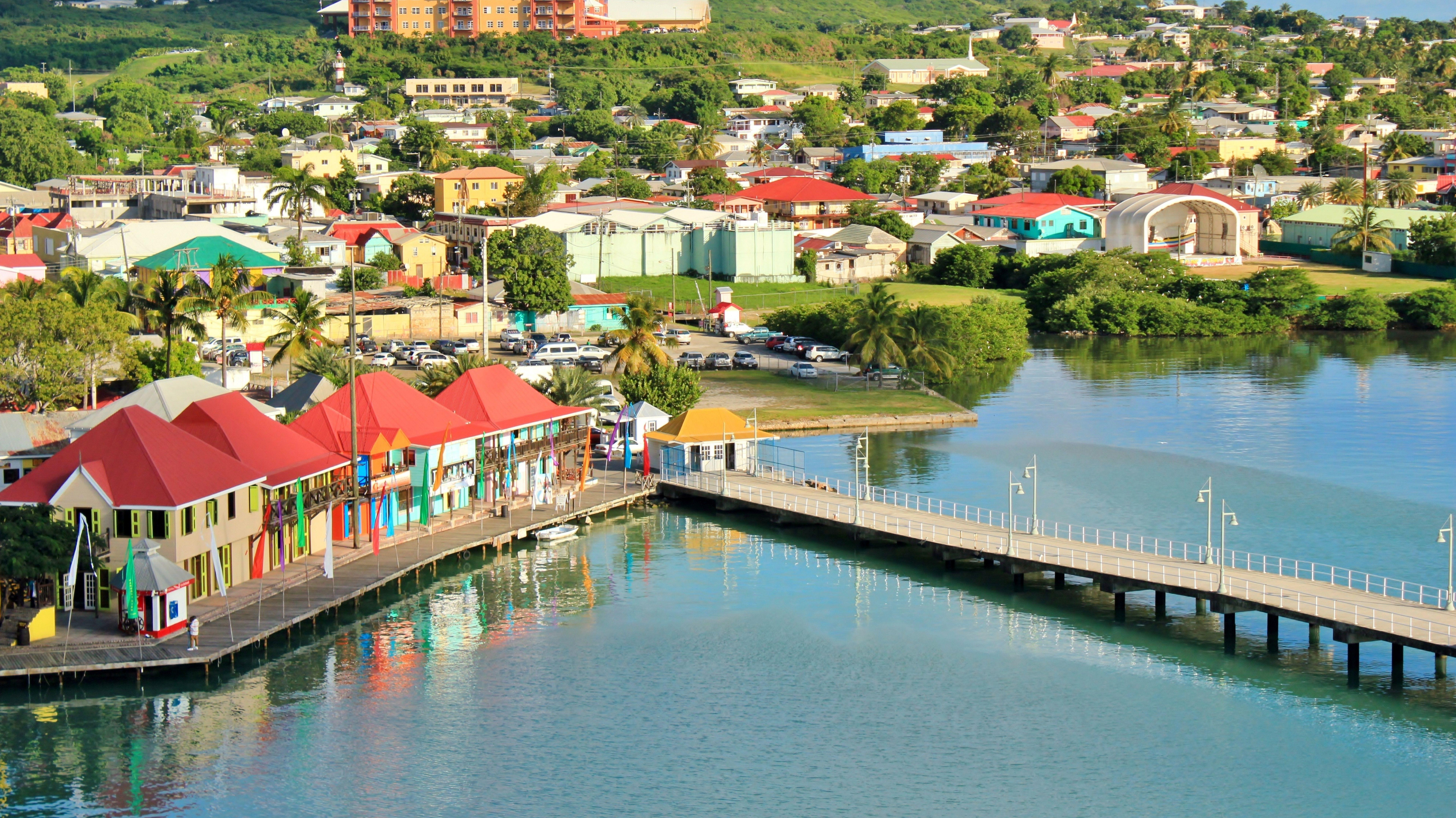 St.Johns Antigua and Barbuda 8K Wallpaper | Wallpapers 4K 5K 8K