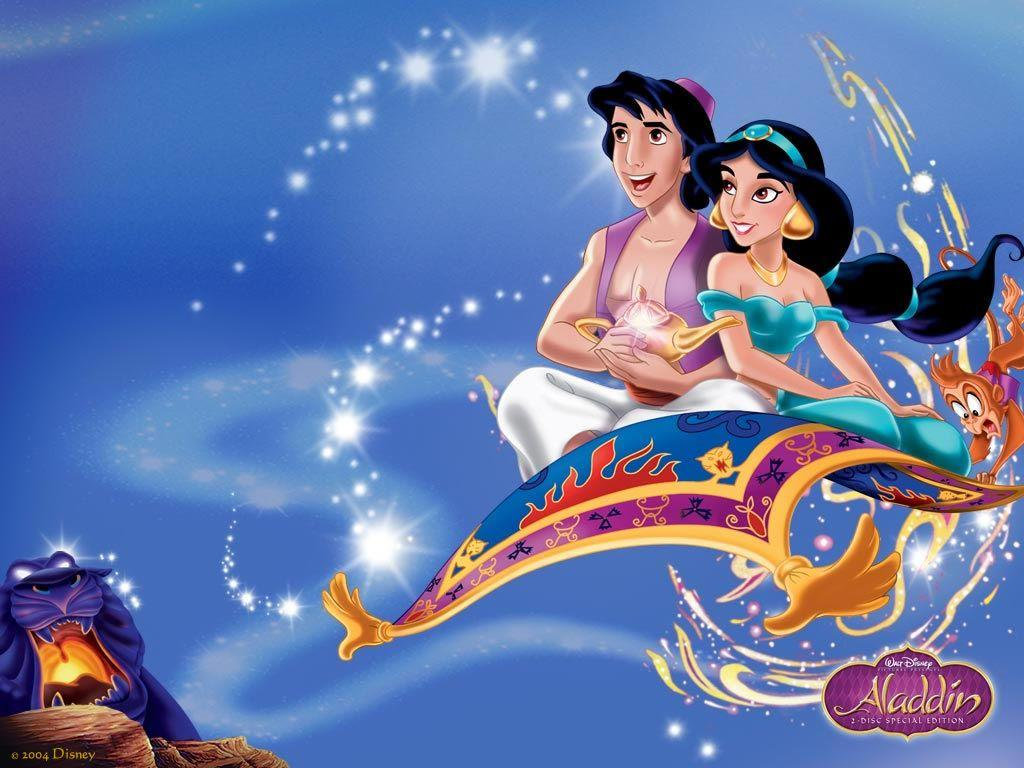 Aladdin Disney Wallpapers Wallpaper Cave