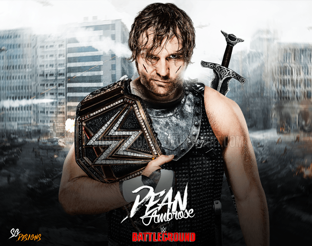 dean ambrose logo wallpapers wallpaper cave