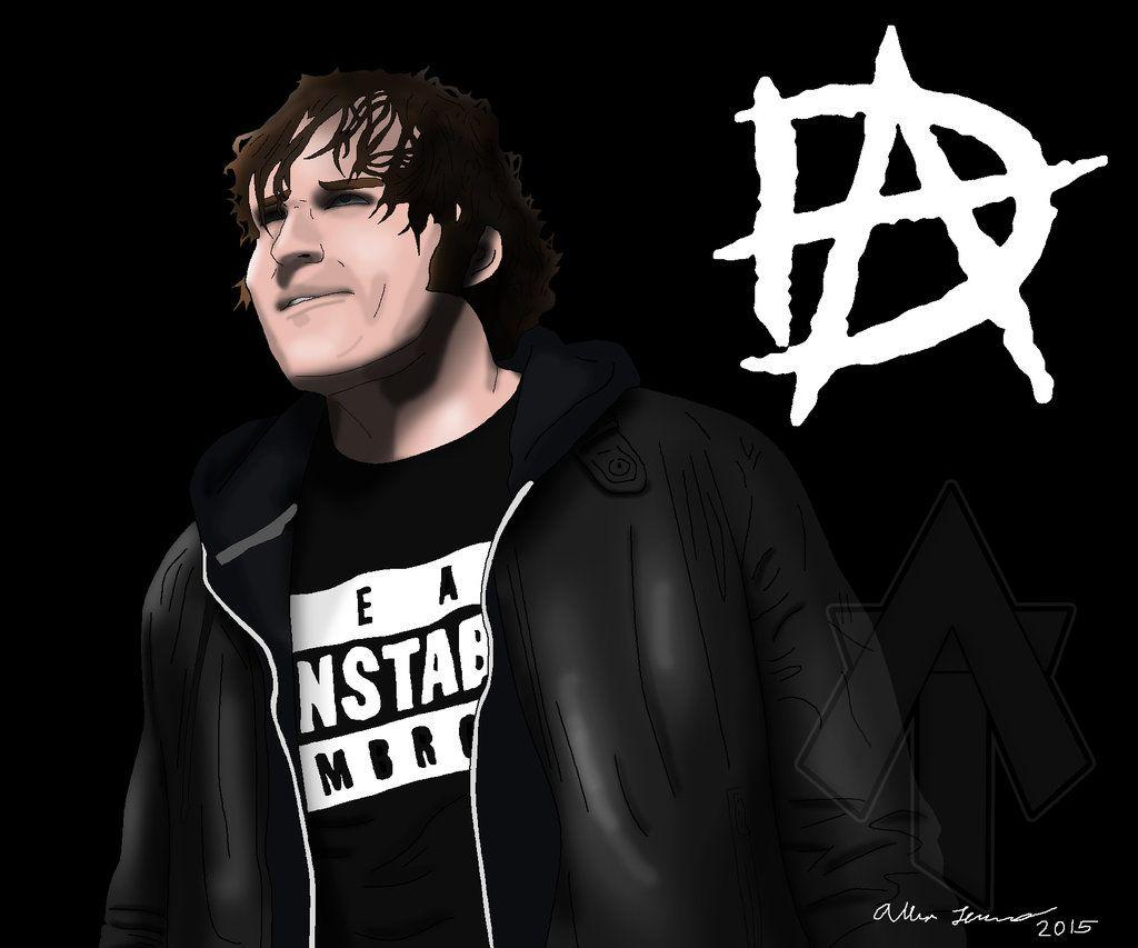 WWE Dean Ambrose Drawing by AllenThomasArtist