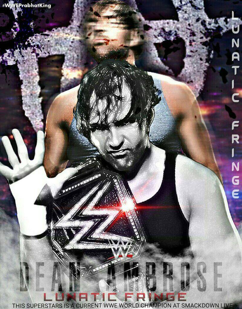 Dean Ambrose Wallpapers by PRABHAT KING by PrabhatKing