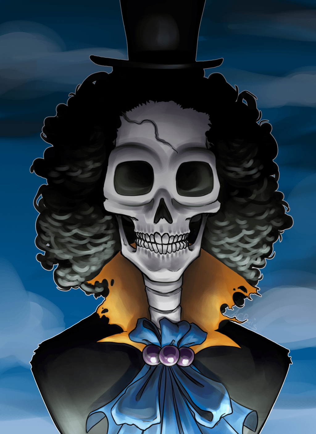 Brook One Piece Wallpapers Wallpaper Cave