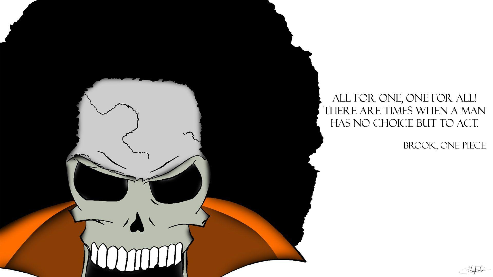 Wallpapers Brook, One Piece [Photoshop Cs5]