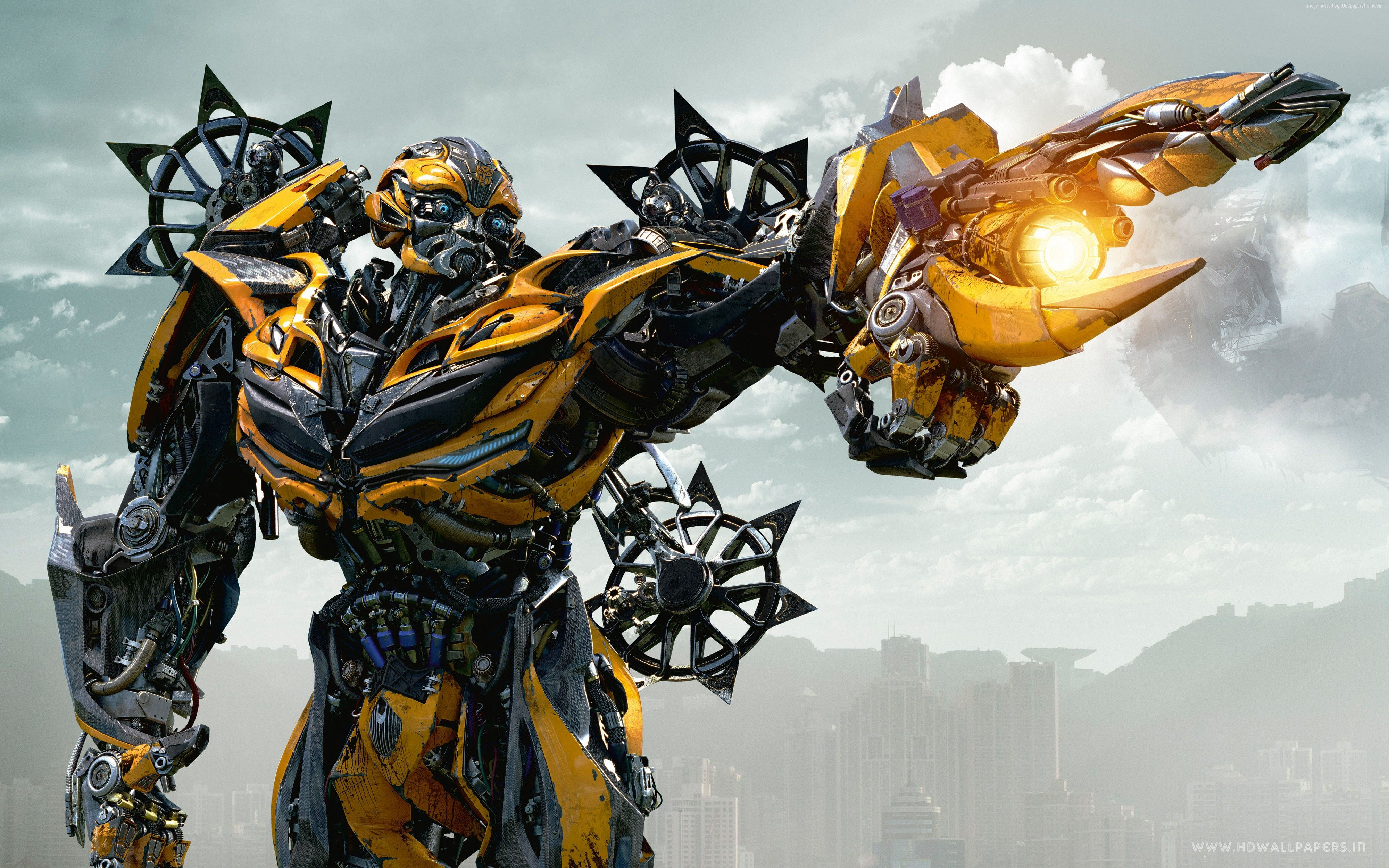 Transformers The Last Knight 4k Bumblebbe