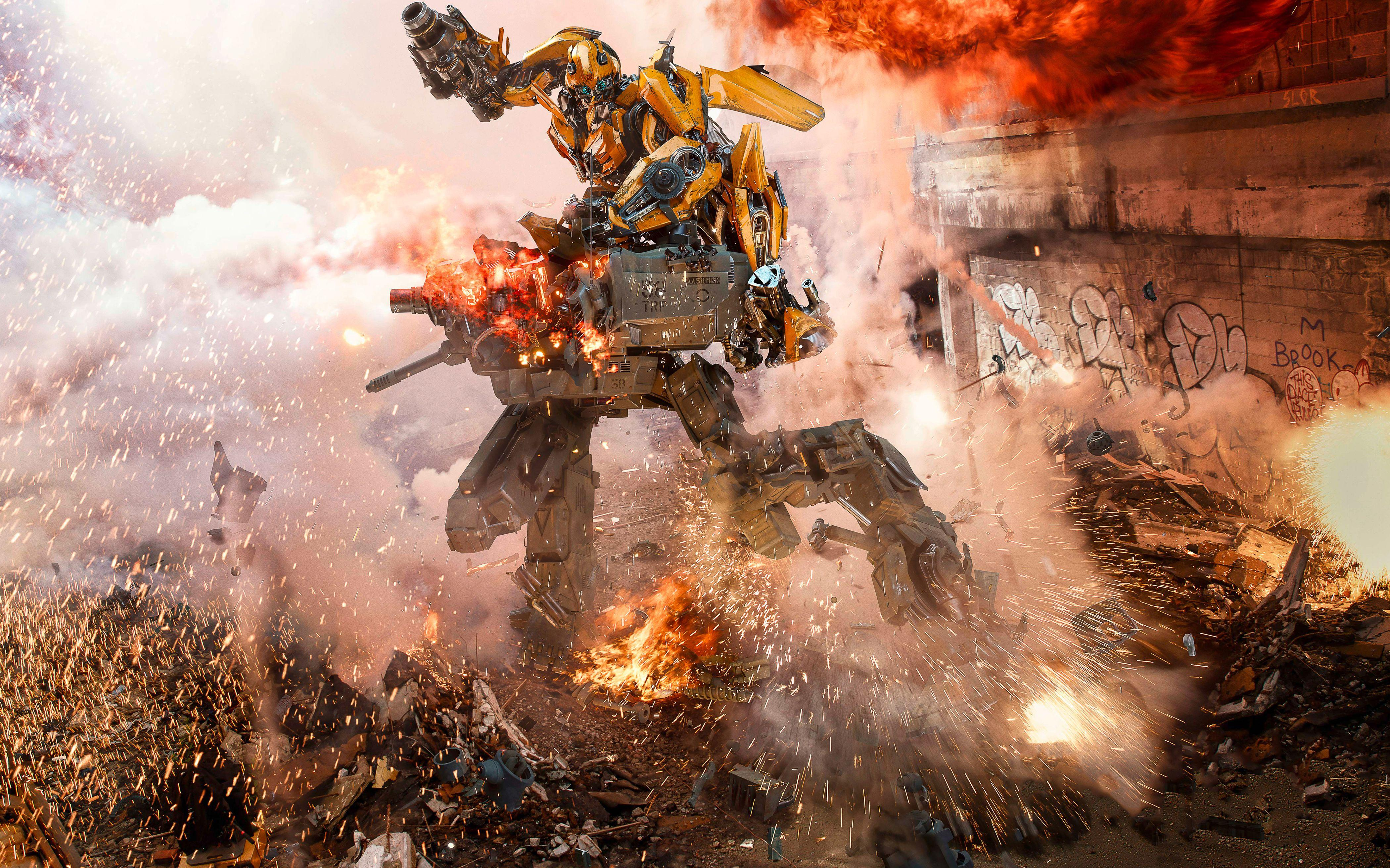 Bumblebee Transformers The Last Knight 5K Wallpapers