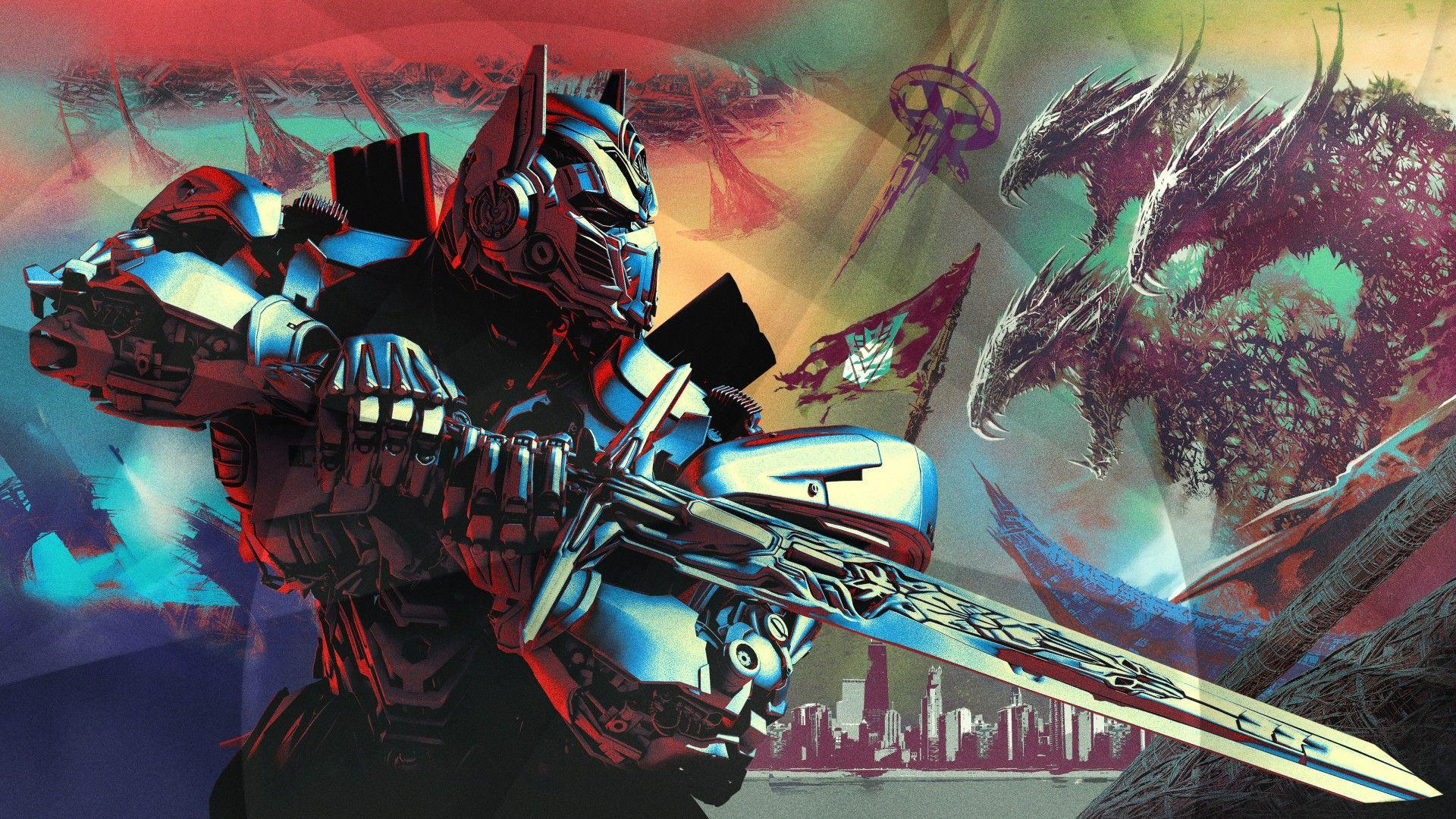 Wallpapers Optimus Prime, Transformers: The Last Knight, 2017