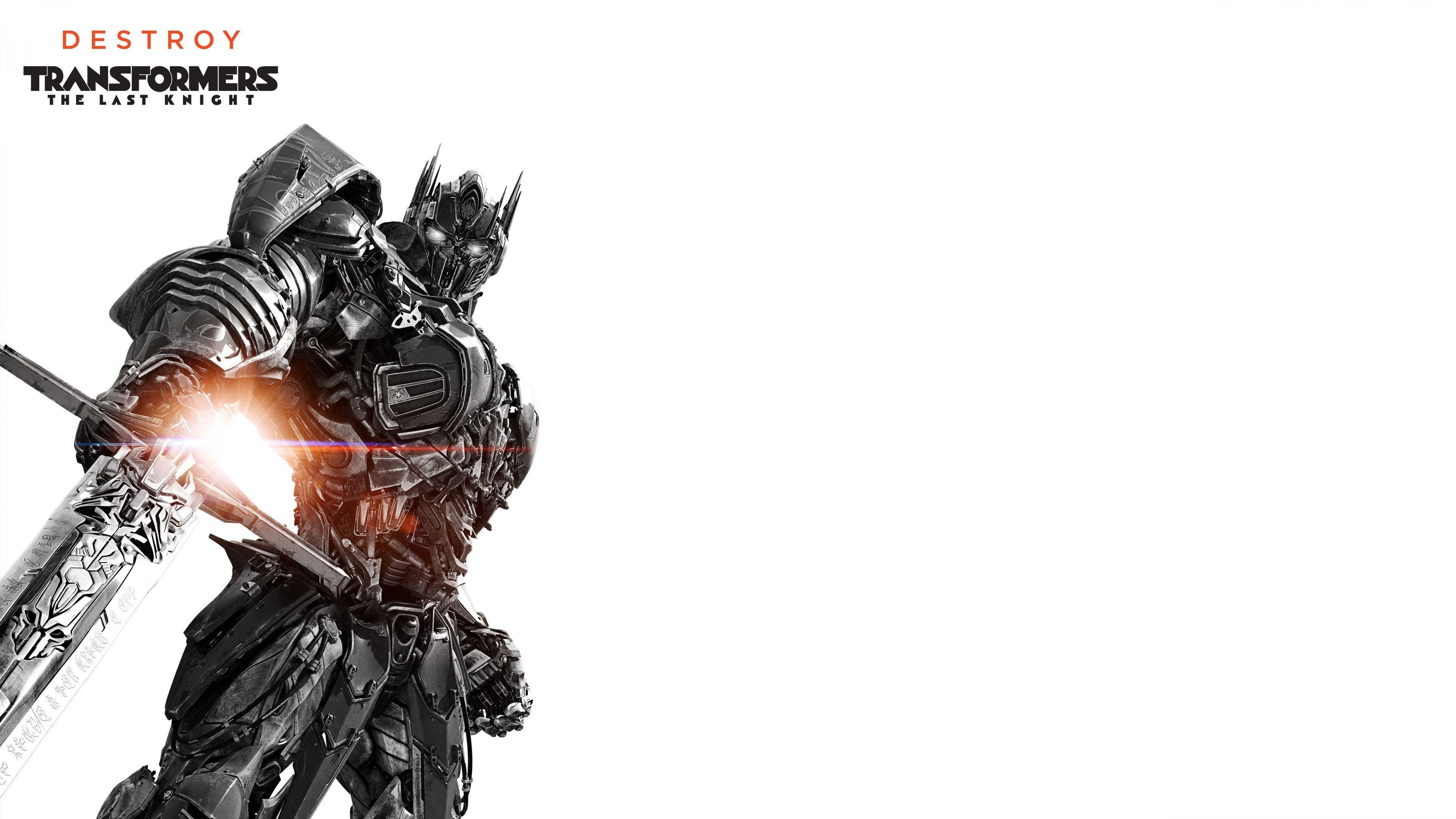 Optimus Prime Transformers The Last Knight 5K Wallpapers