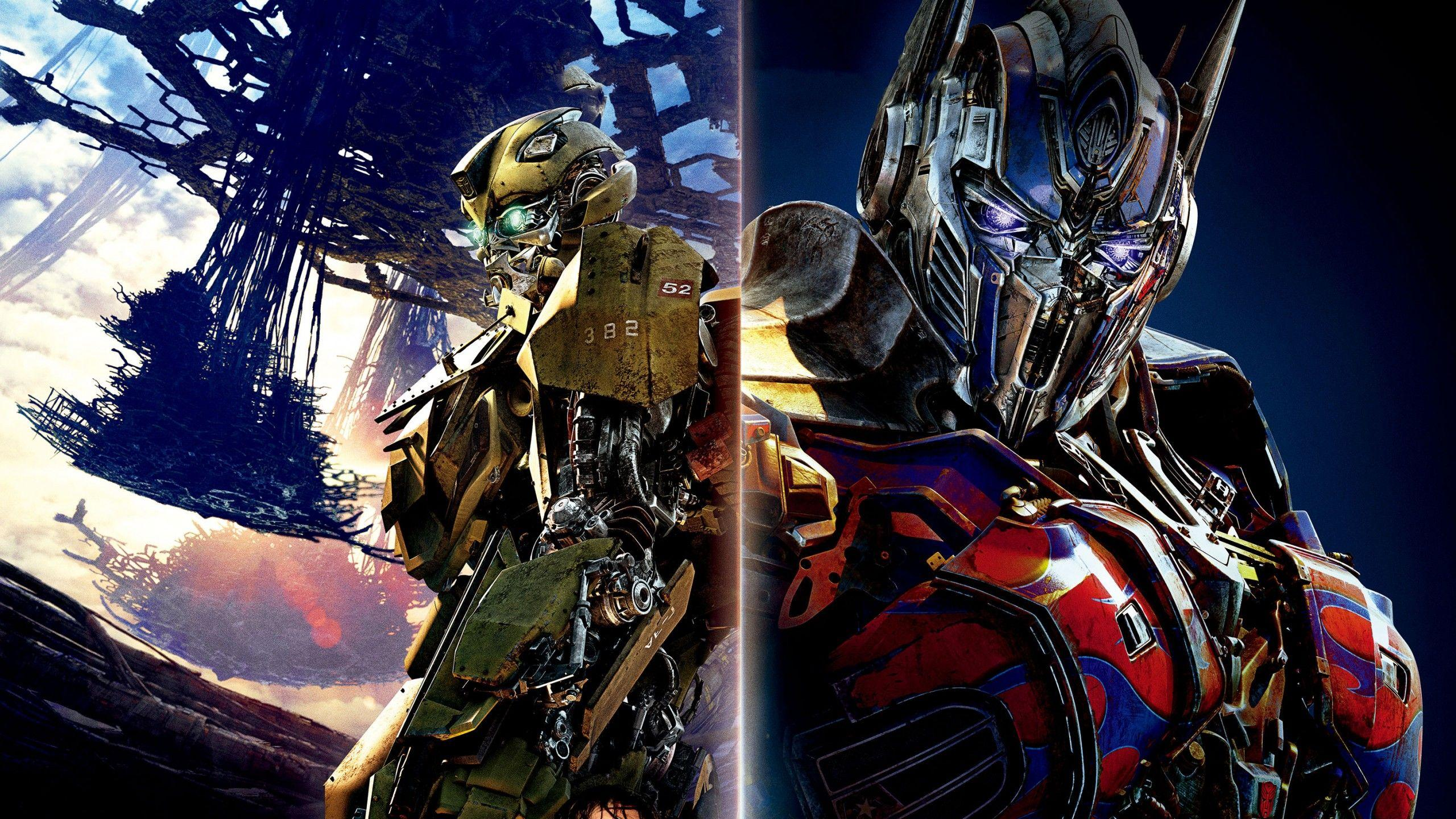 Wallpapers Transformers: The Last Knight, Optimus Prime, Bumblebee