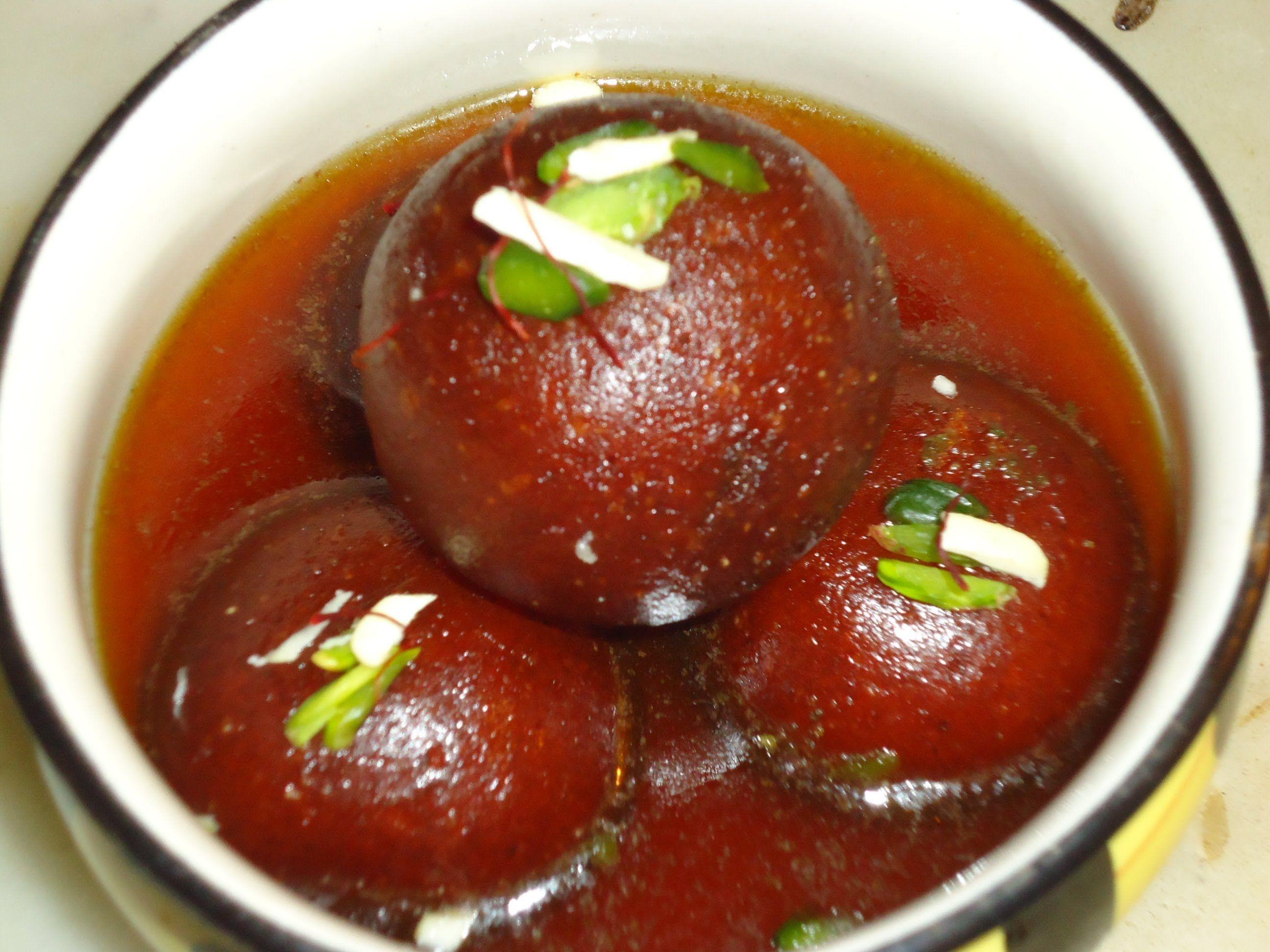 Gulab Jamun Recipe Kala Brown Rasgulla