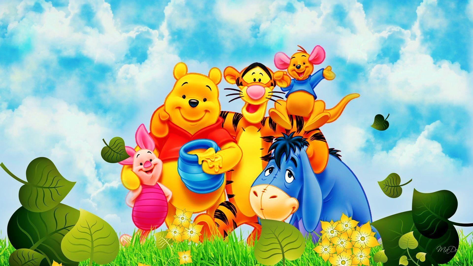 My friends tigger pooh wallpapers wallpaper cave disney winnie the pooh wallpapers group 68 altavistaventures Images