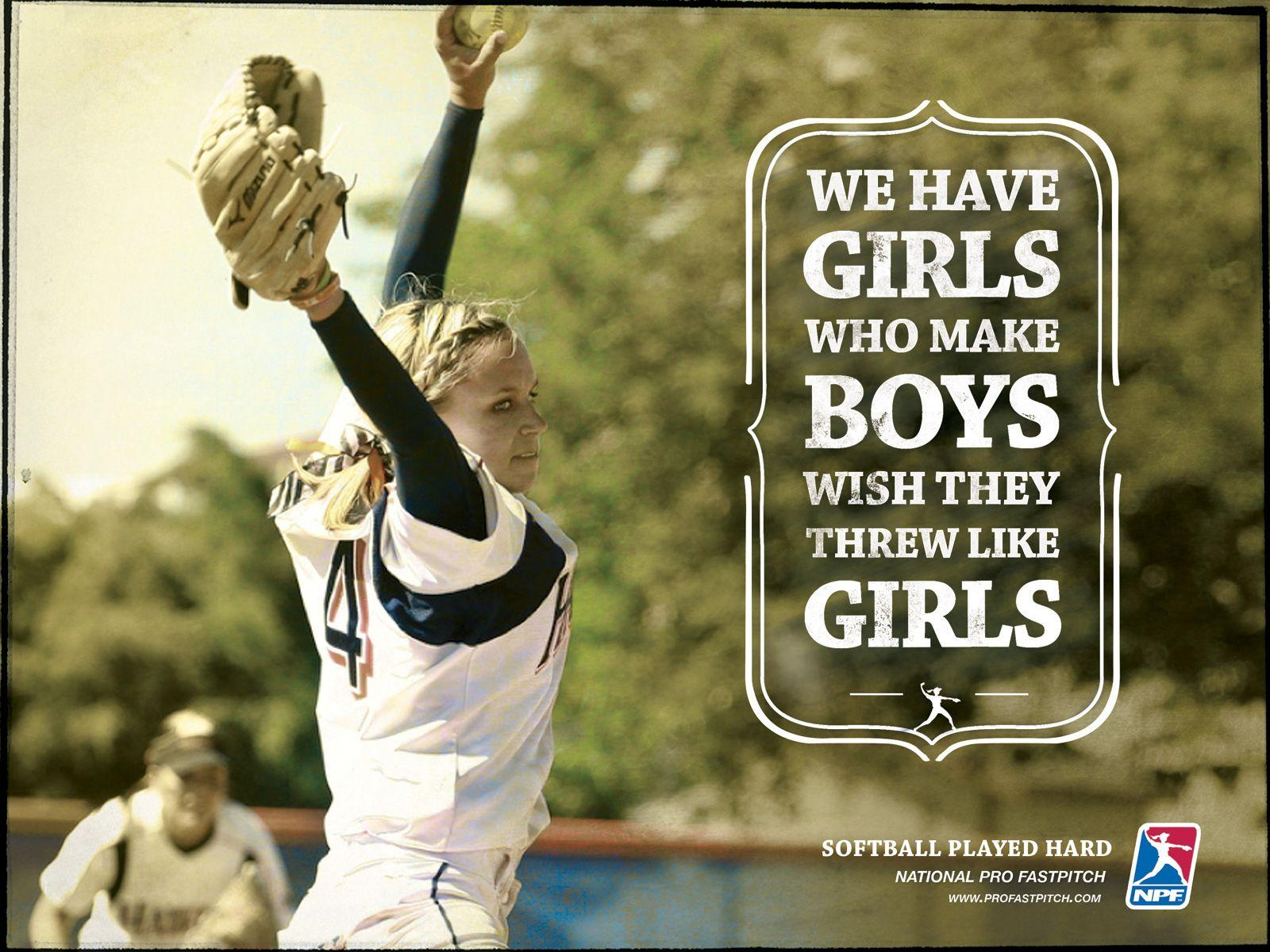 Sport Wallpaper Cute: Softball Wallpapers