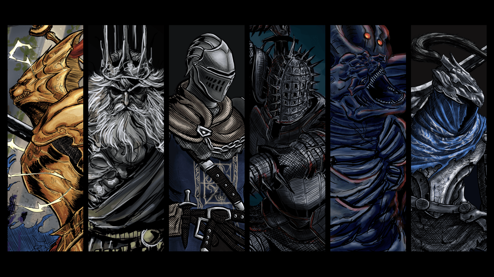 Artorias Of The Abyss Wallpapers Wallpaper Cave