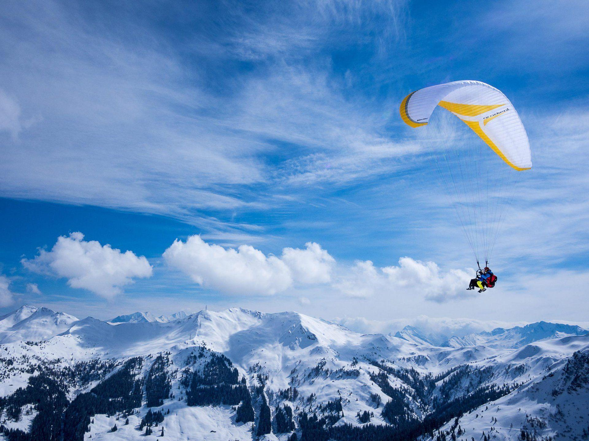 Extreme Wallpaper 3d: Paragliding Wallpapers