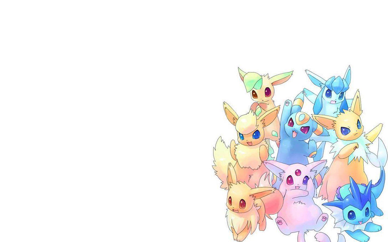 Pokemon Eevee Wallpapers Wallpaper 1920x1080 Eeveelutions