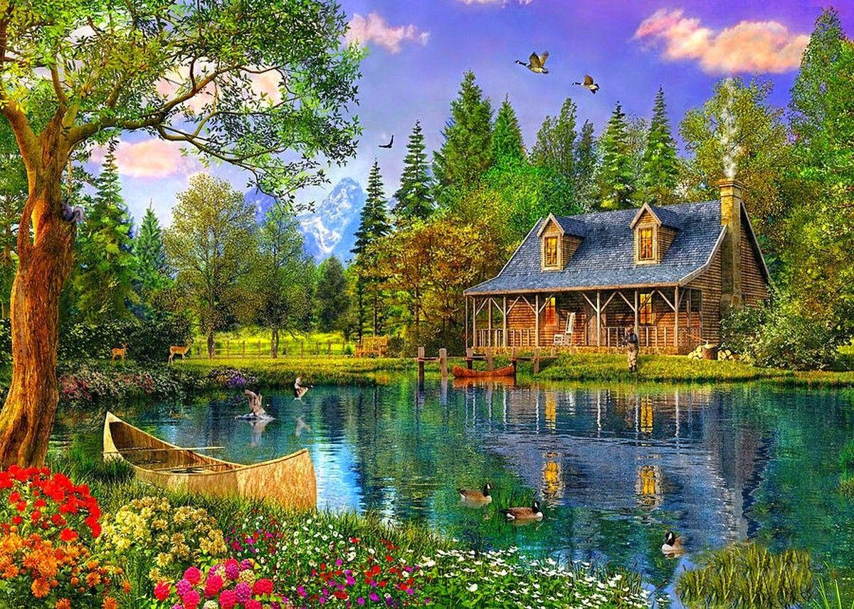 Gallery For Beautiful Cottage Wallpapers