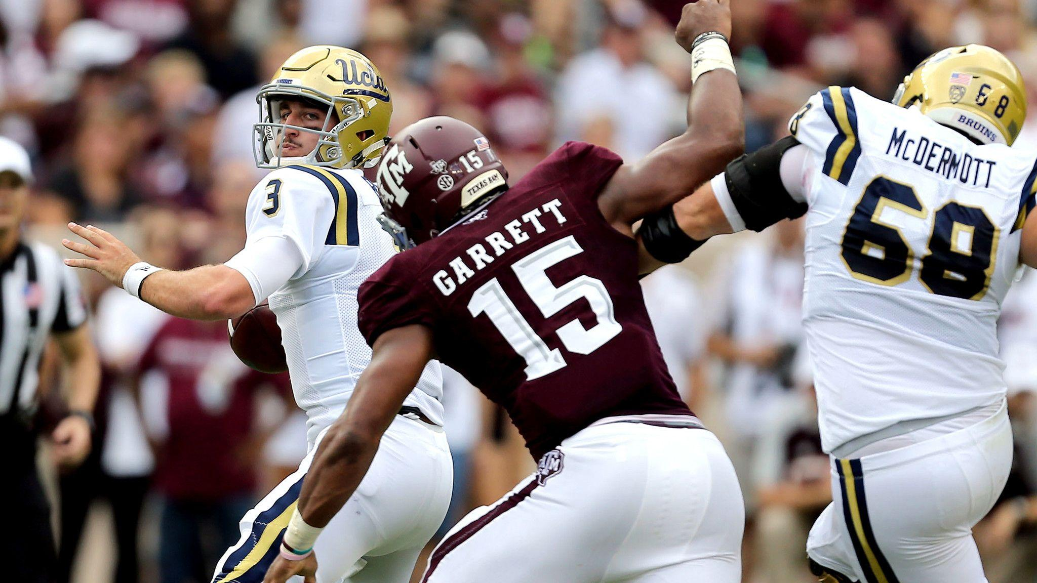 UCLA falls to Texas A&M; in overtime, 31-24 - LA Times