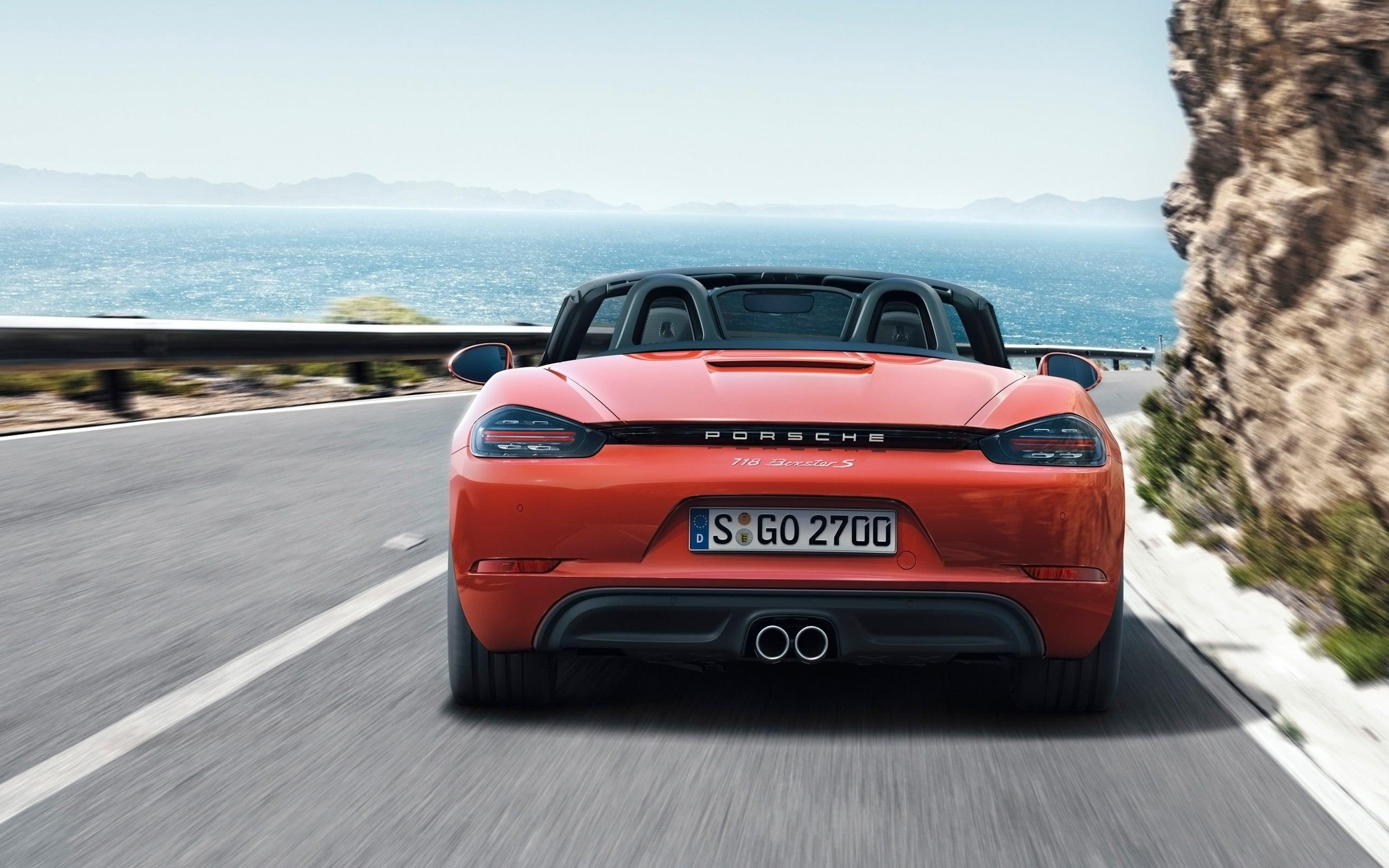 2016 Porsche 718 Boxster S HD wallpapers free Download