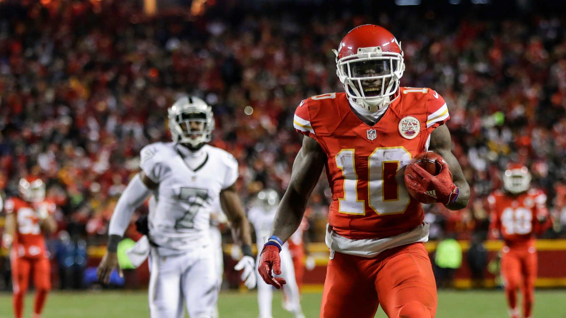 Tyreek Hill, the game