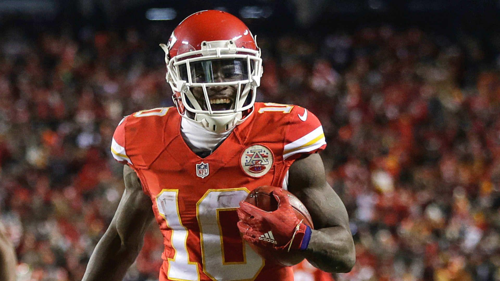 Chiefs' Tyreek Hill more mature, still improving ahead of second