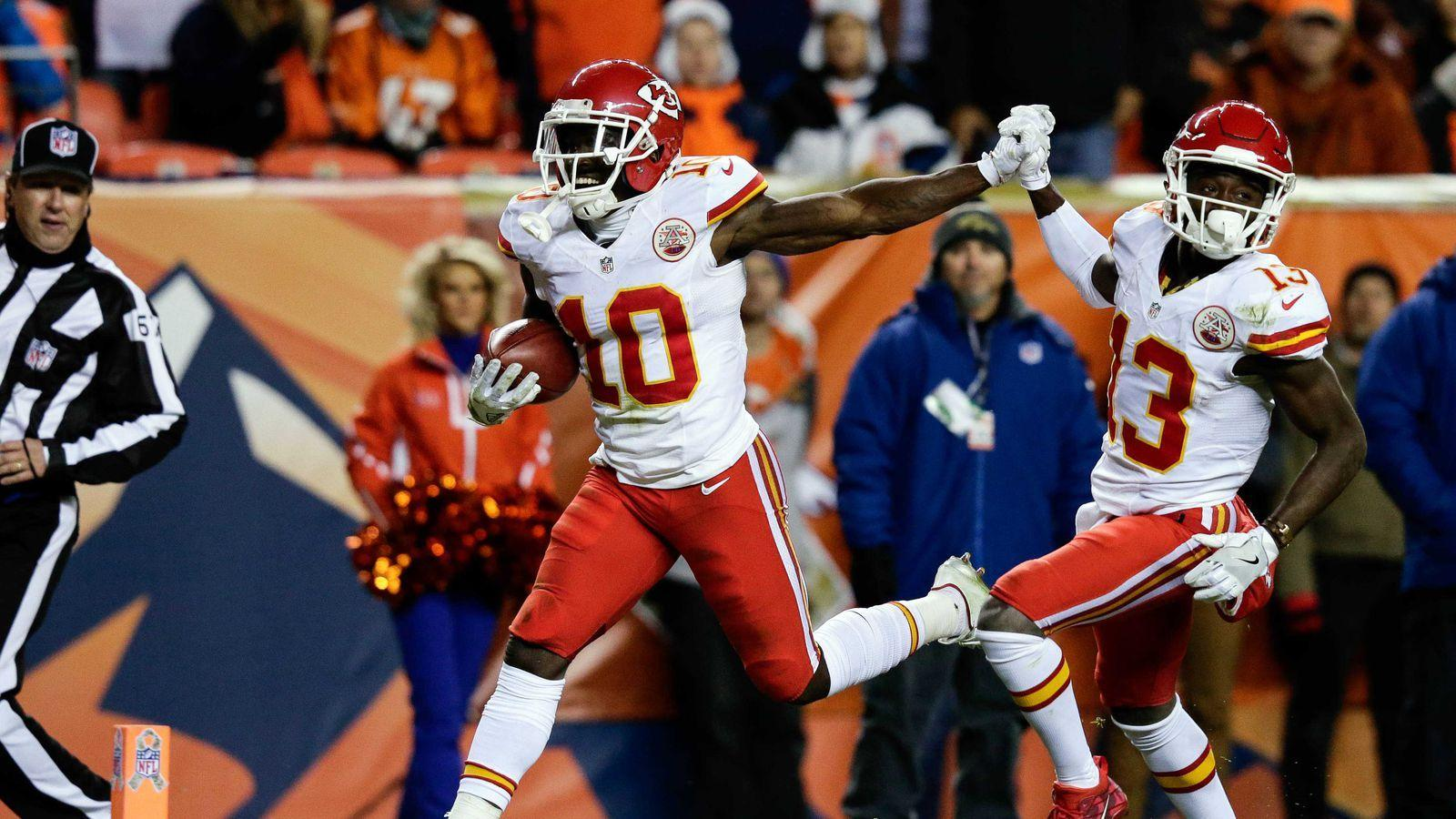 Tyreek Hill will return punts, not kicks for Chiefs this year