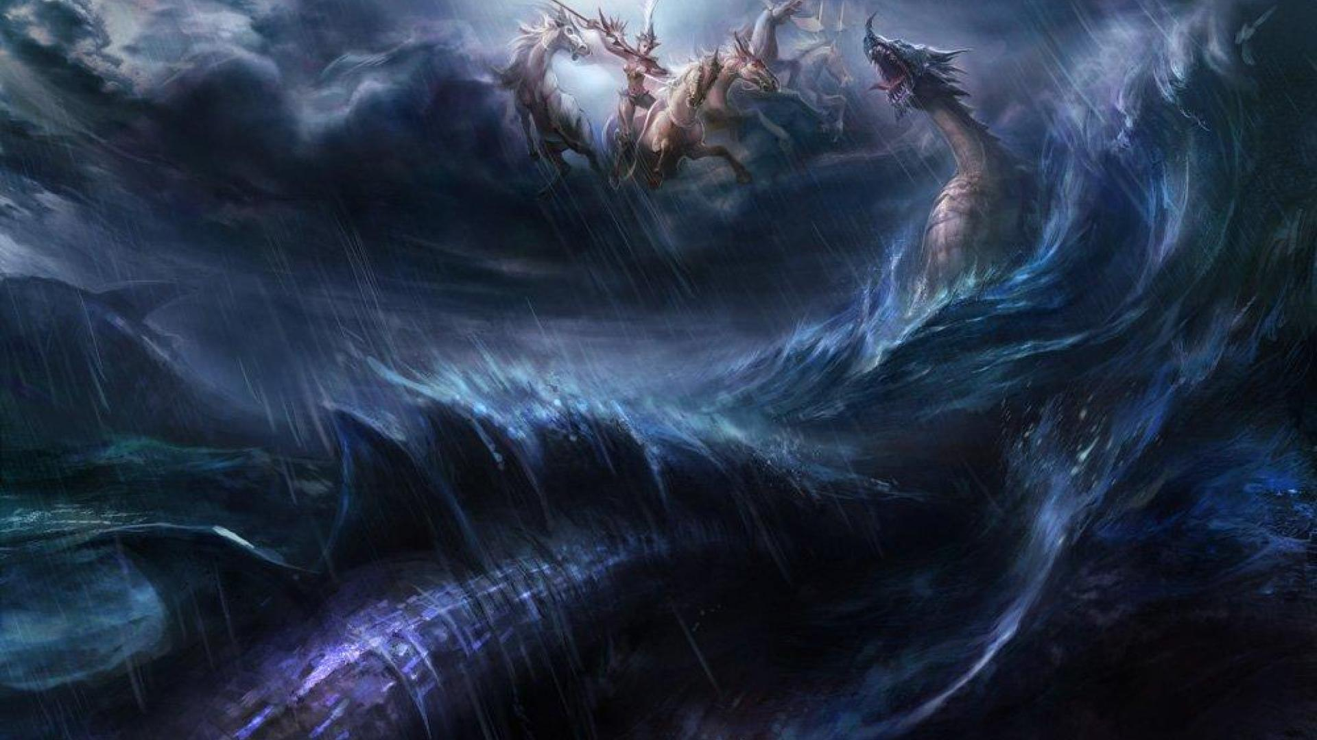 Sea Monster Wallpapers Group (75+)