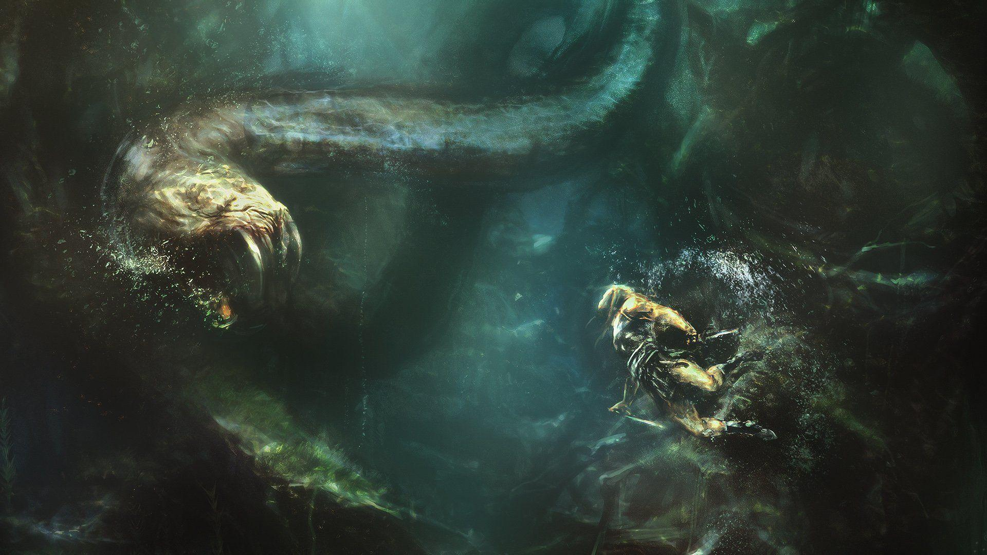Sea Monster Full HD Wallpaper and Background | 3508x2480 | ID:669206