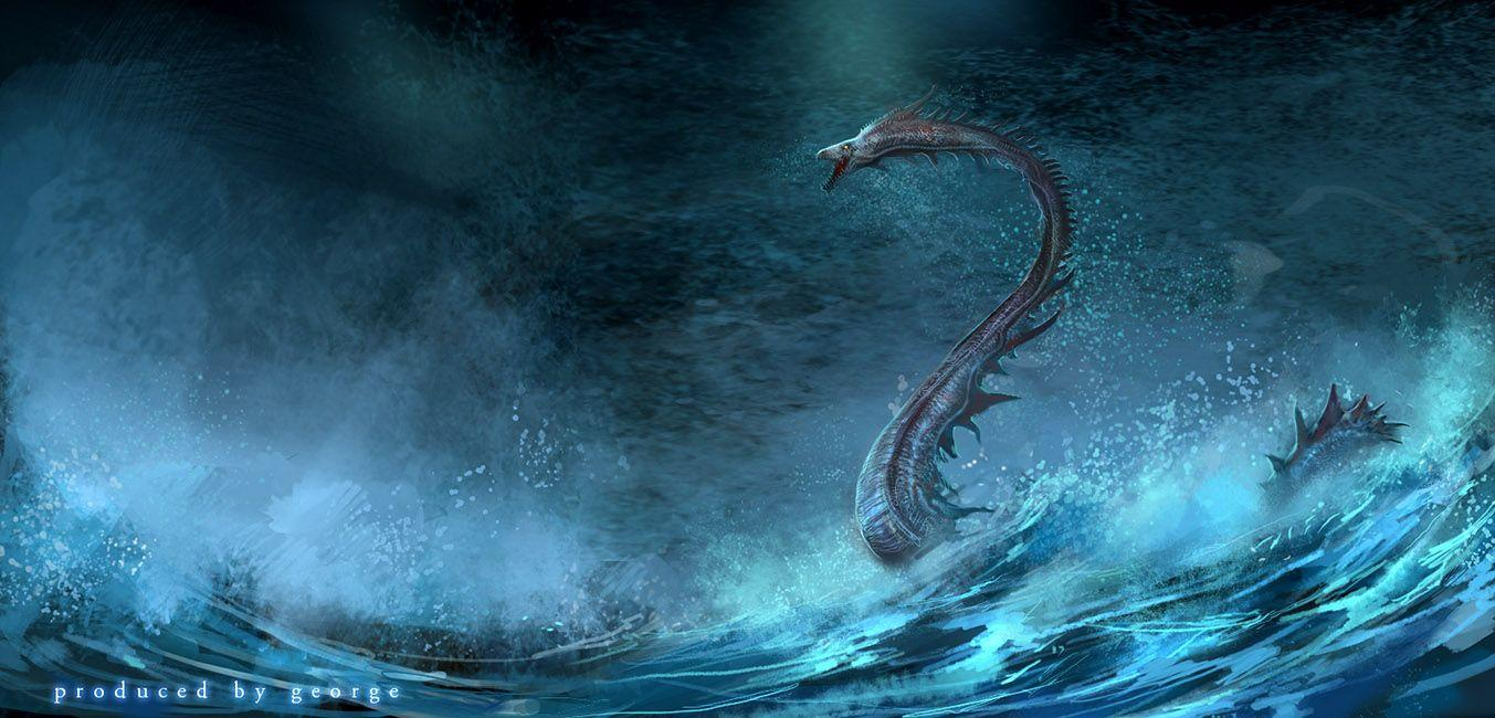 fantasy sea water monster | Fantasy HD Wallpapers | Pinterest ...