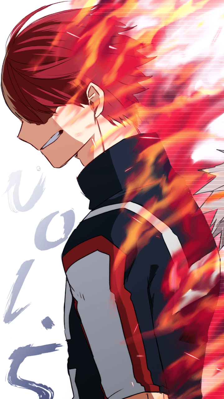 Boku No Hero Academia Todoroki Wallpaper Iphone Anime Top Wallpaper