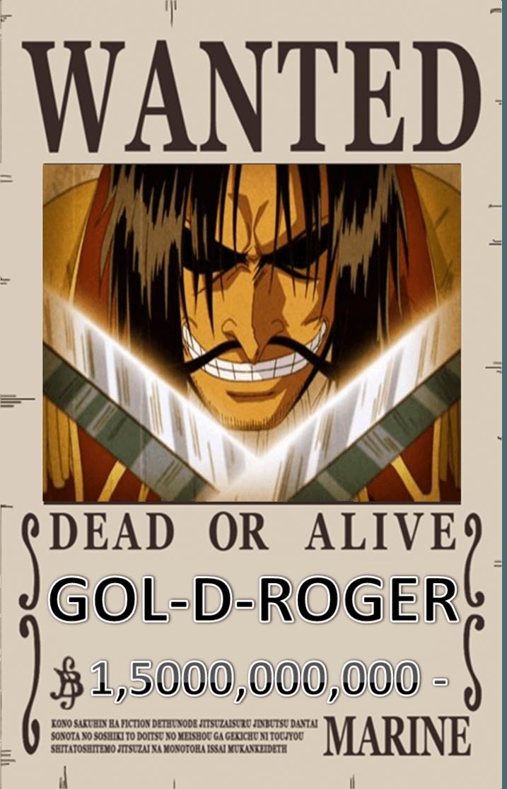 Gol D Roger Bounty