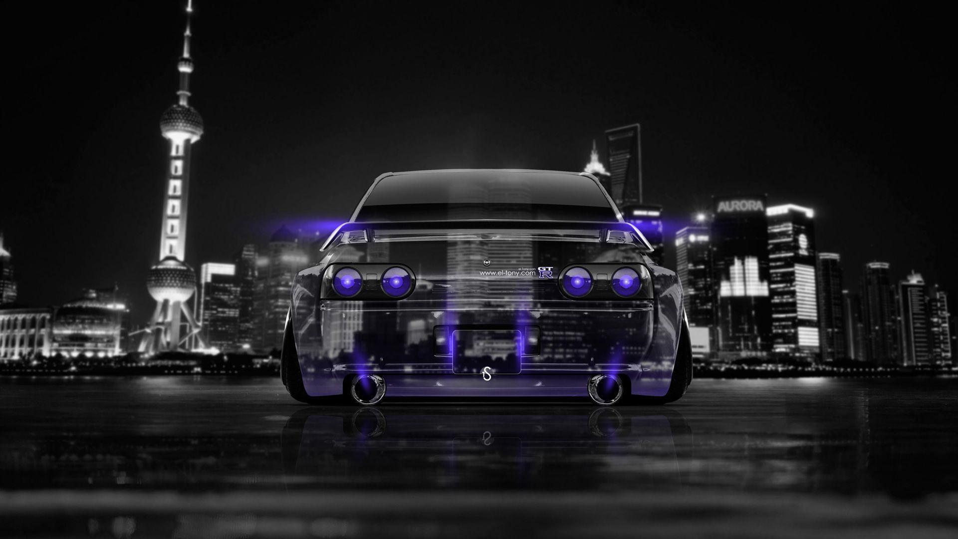 Nissan Skyline GTR R32 JDM Back Crystal City Car 2014 | El Tony