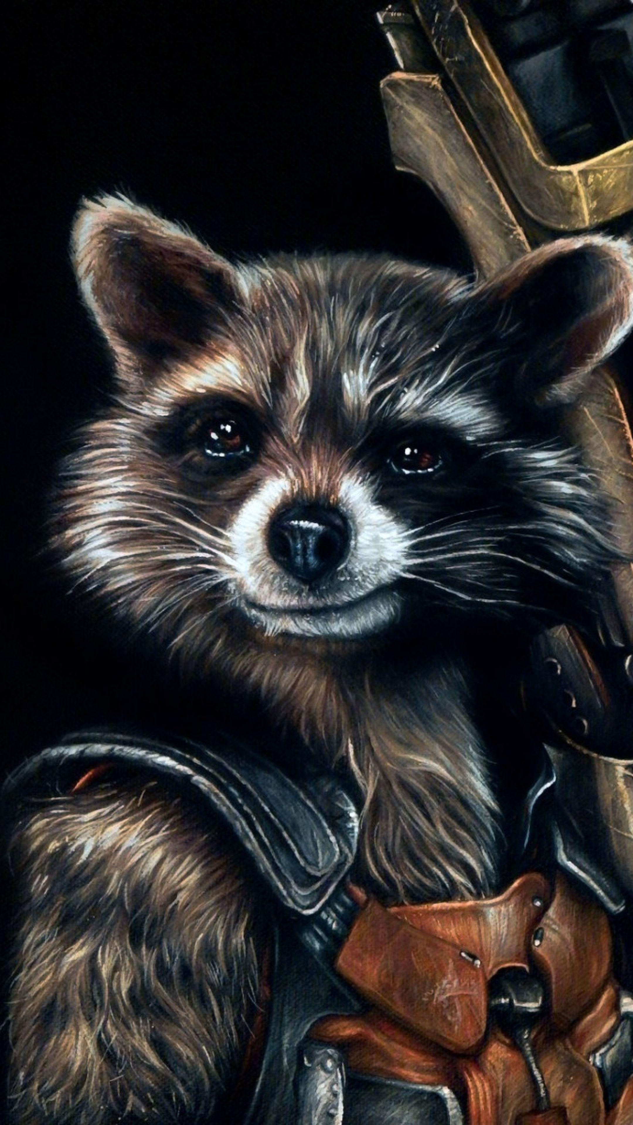 Rocket raccoon wallpapers wallpaper cave - Rocket raccoon phone wallpaper ...
