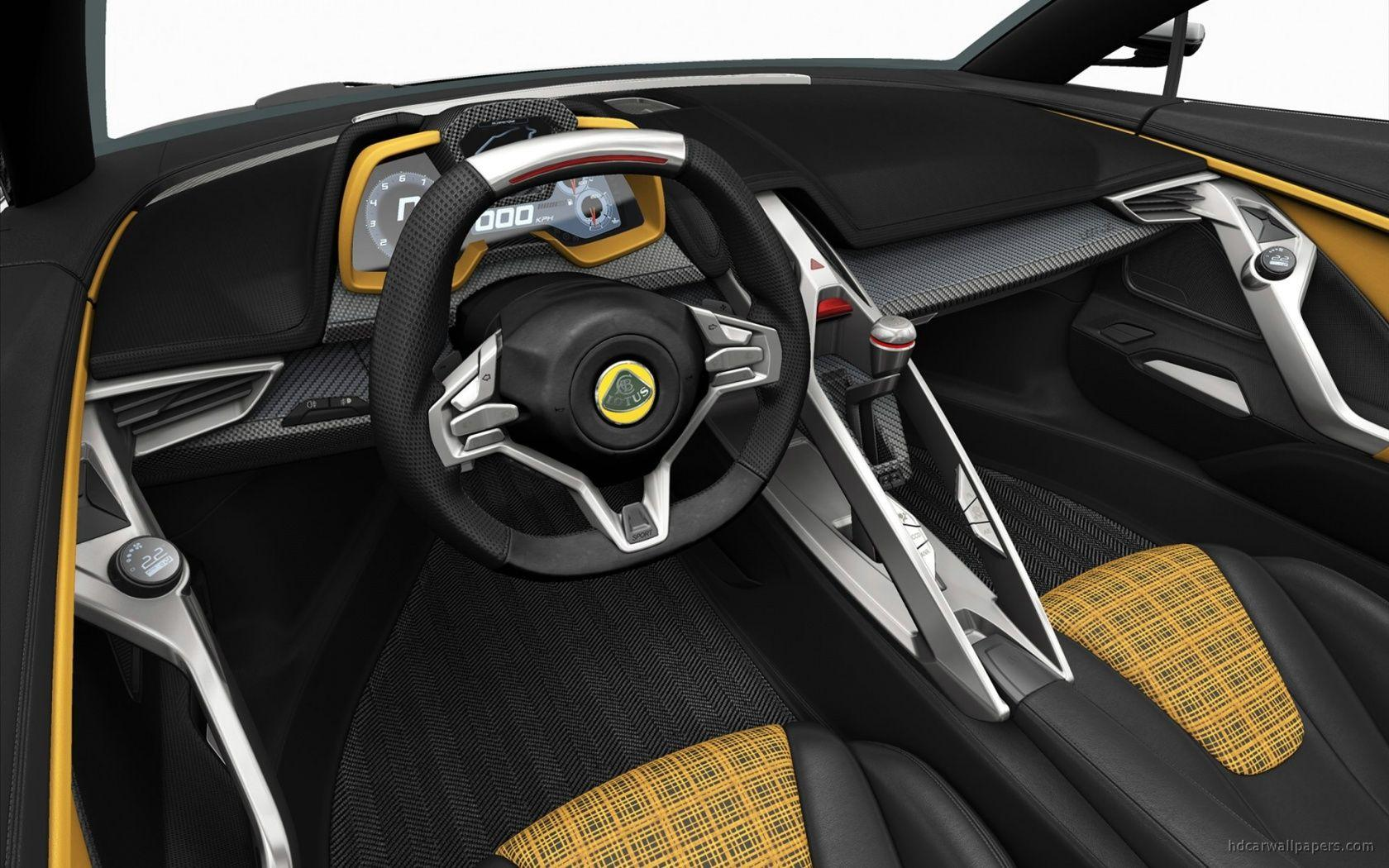 2015 Lotus Elise Concept Interior Wallpaper | HD Car Wallpapers